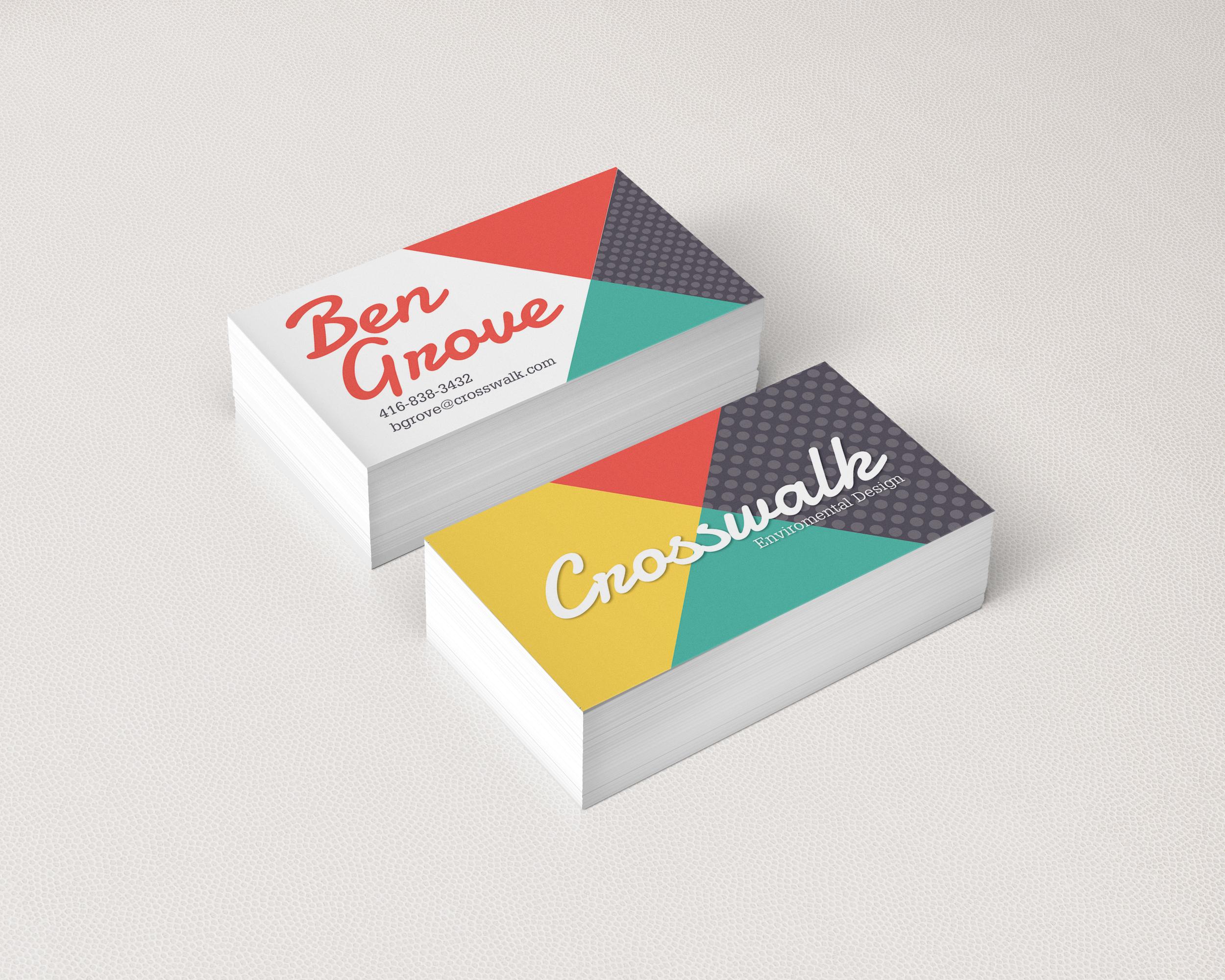 Blitz Print House Business Card Templates on Behance