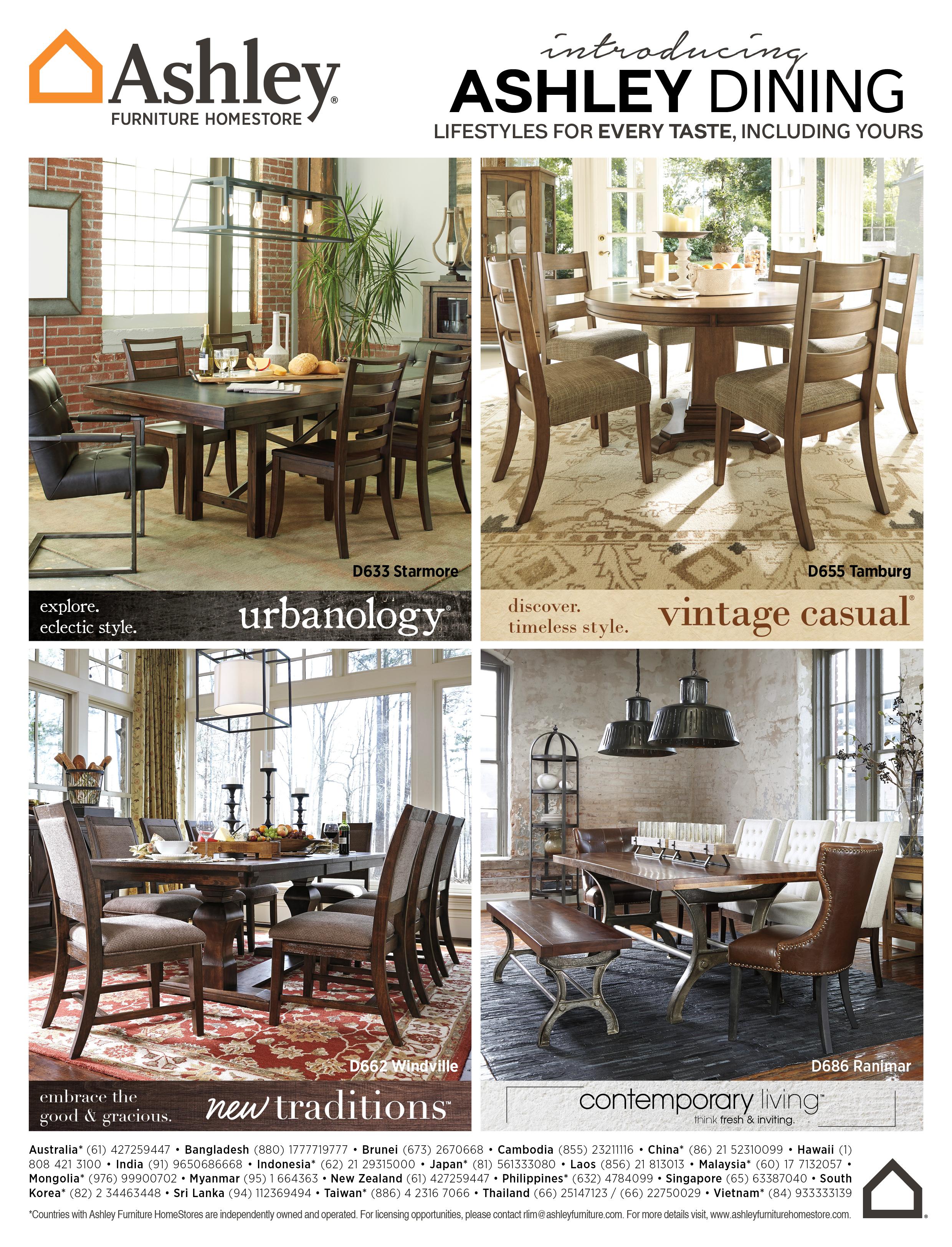 AirAsia Magazine Ad Ashley Furniture HomeStore Asia On Behance