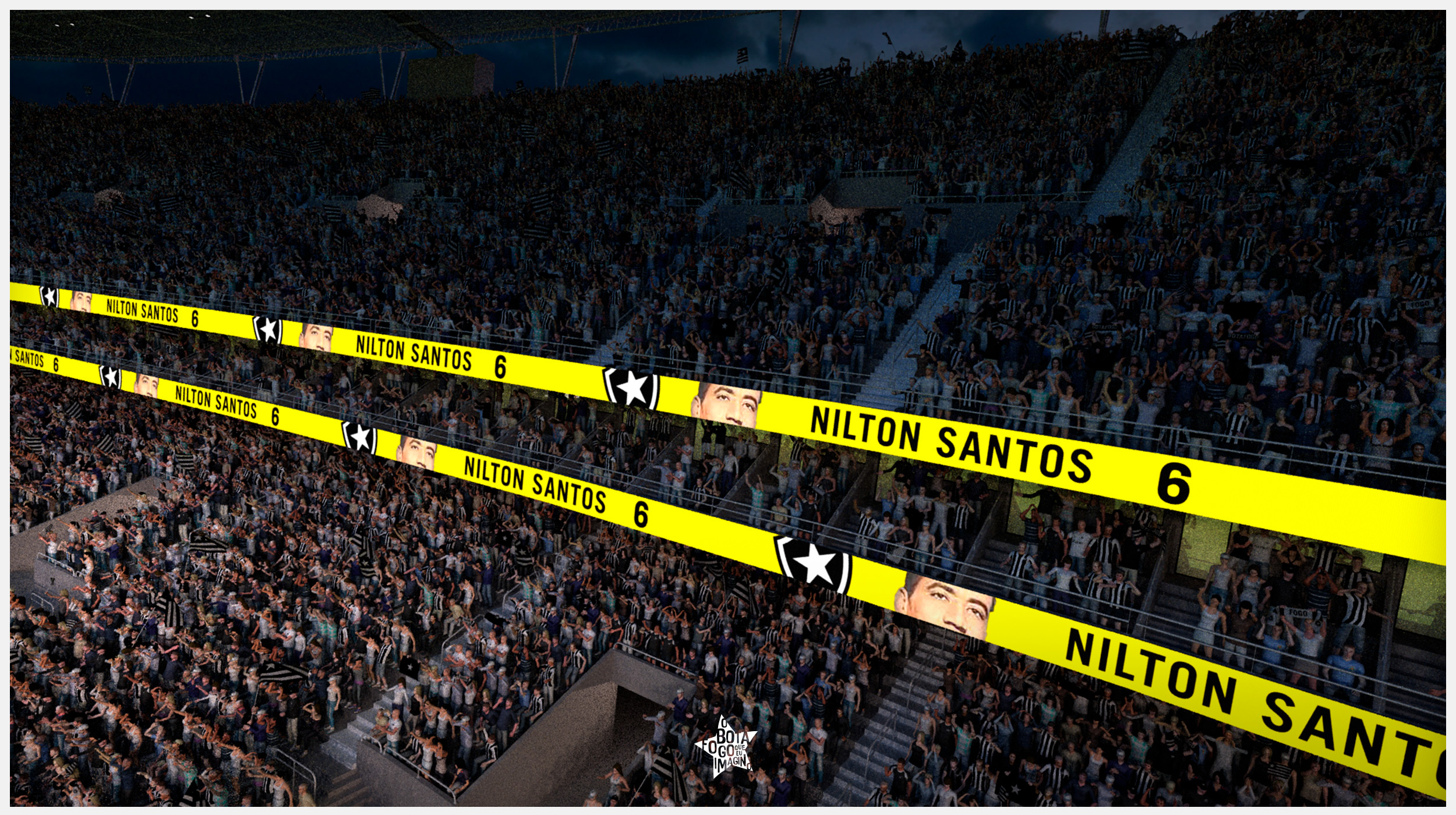 LEDs in Nilton Santos Stadium on Behance