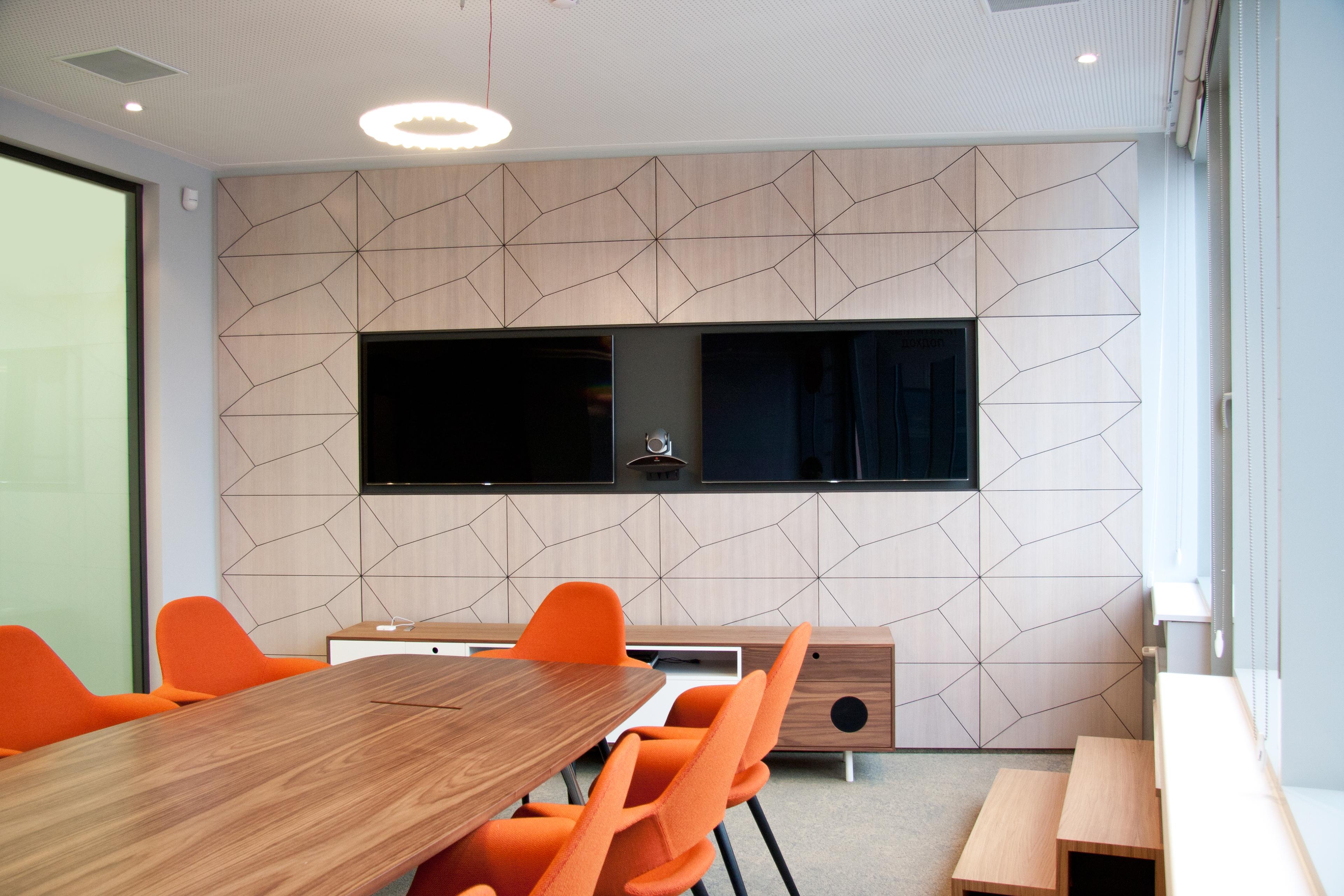 Дизайн со стеновыми панелями