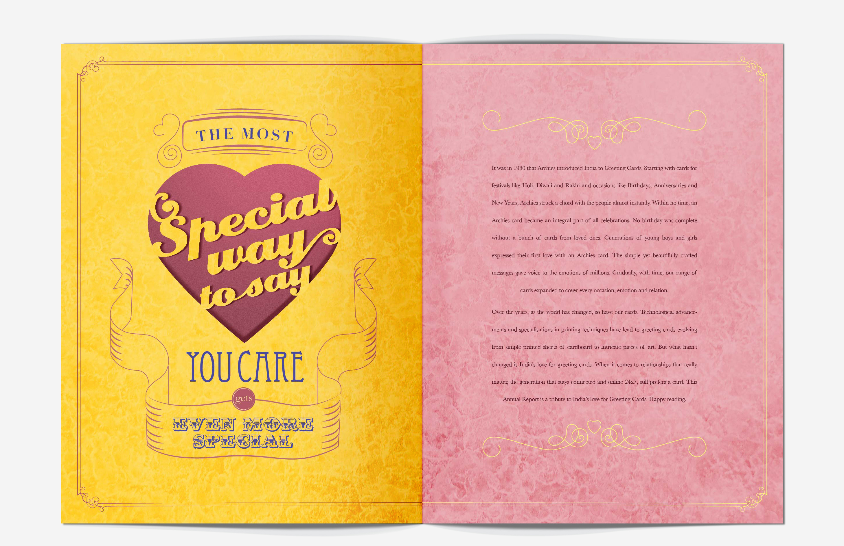 Archies Annual Report 2011 On Behance