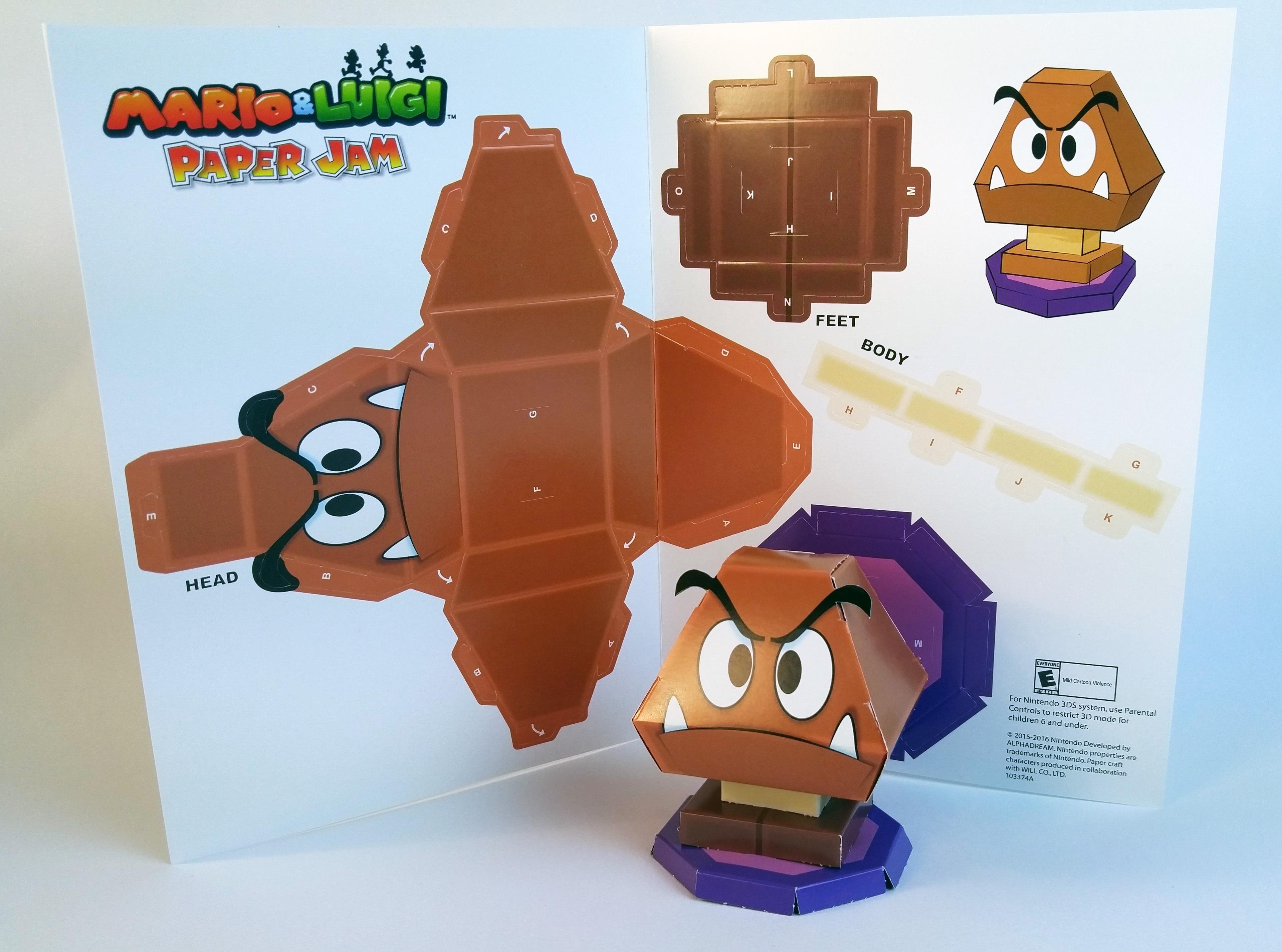 Mario luigi paper jam papercraft premium on behance altavistaventures Choice Image