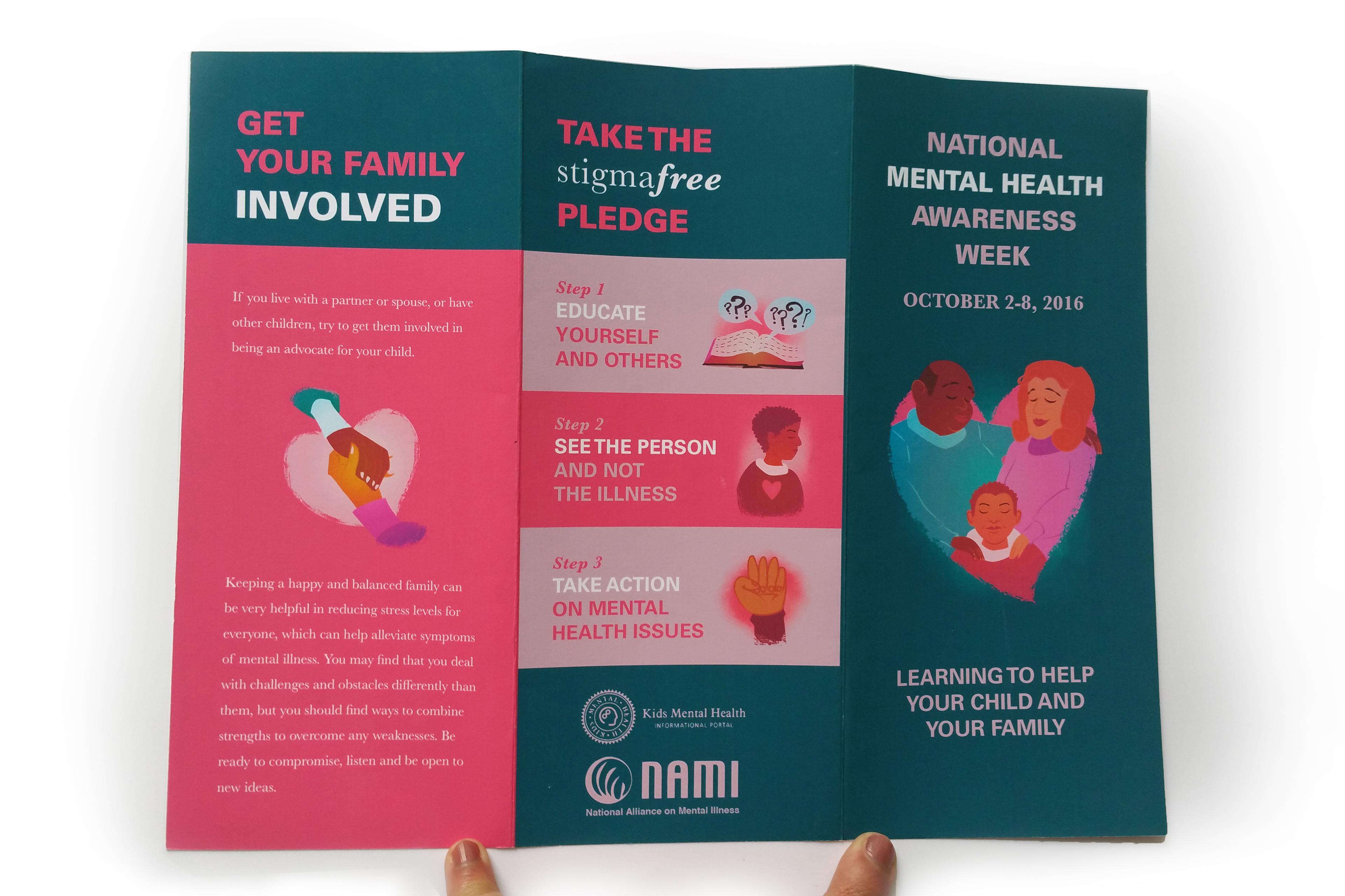 Valerie Thakkar National Mental Health Awareness Week 2016 Brochure