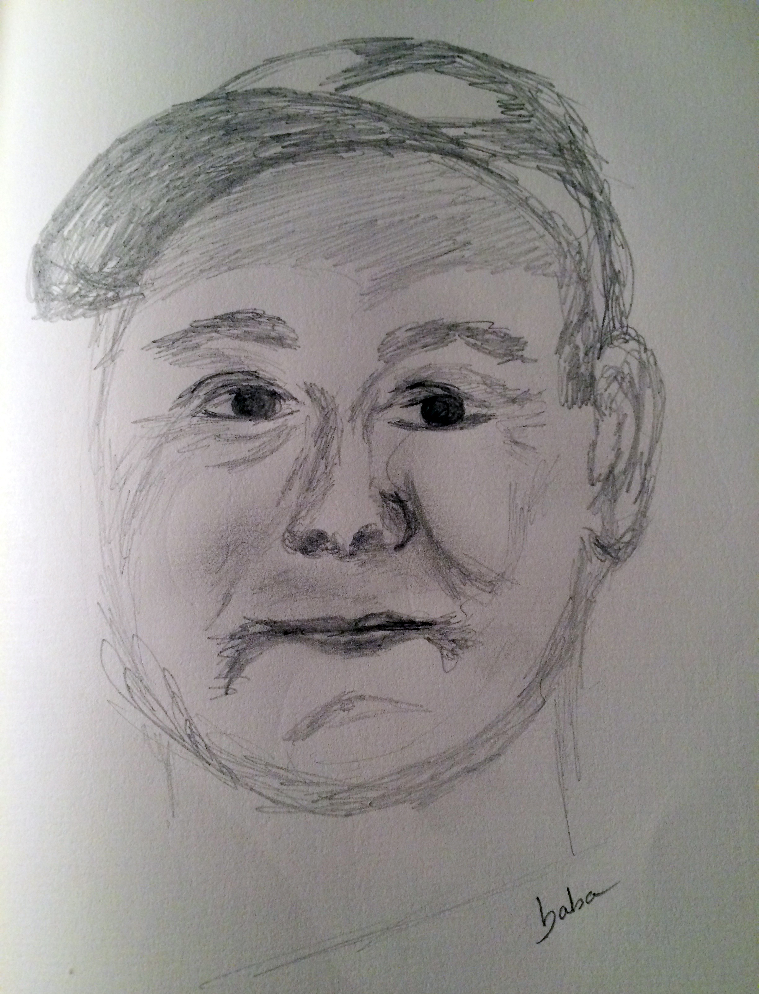 My father sketch