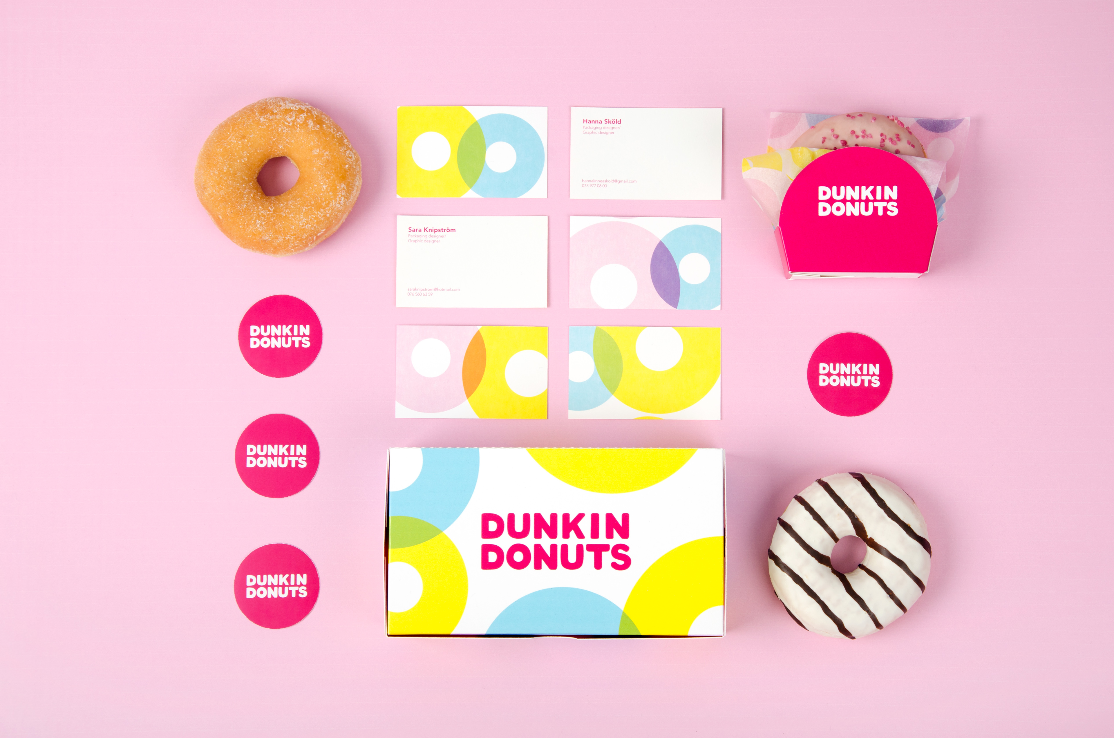 Dunkin Donuts on Behance