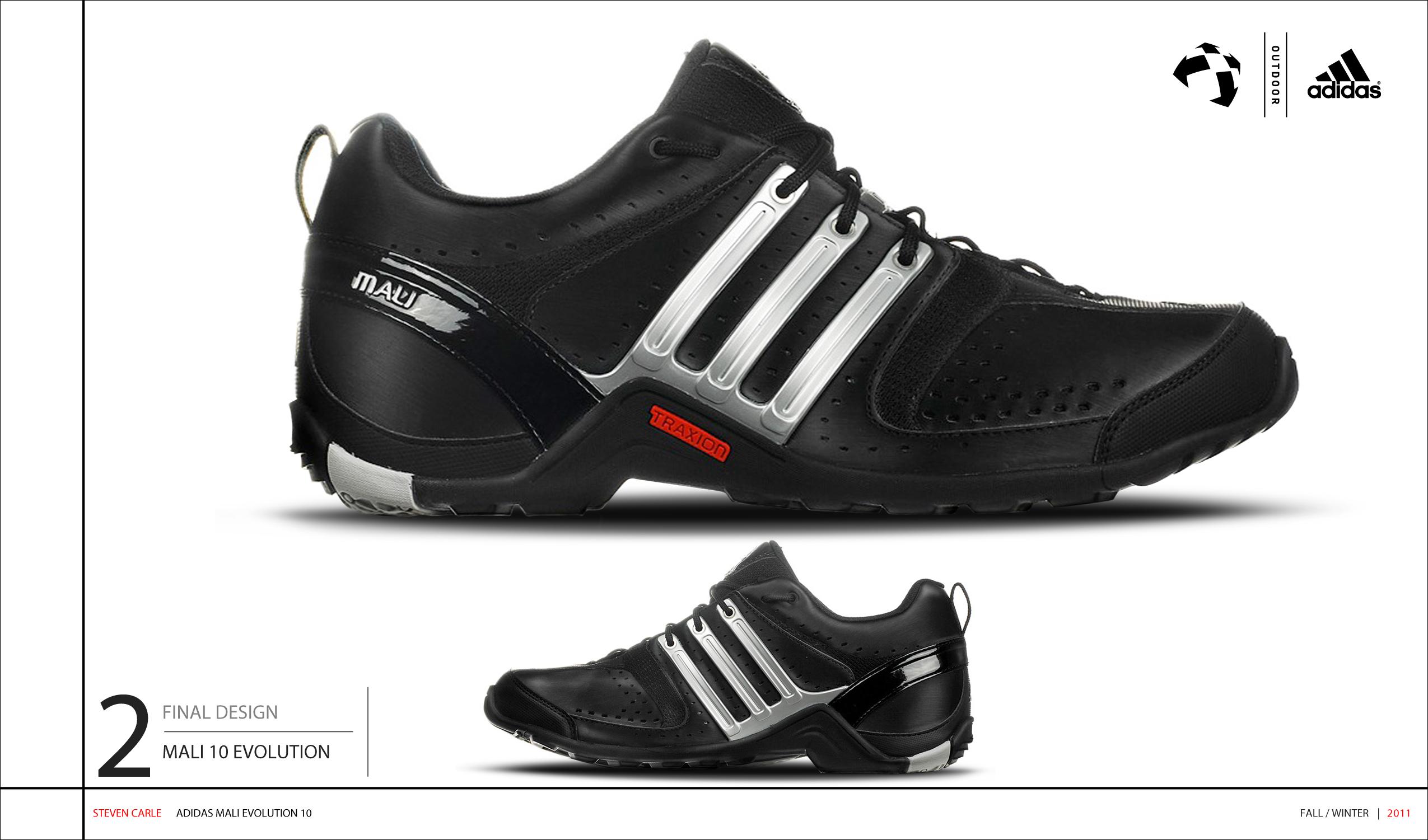 Adidas Mali Evolution 2010 on Behance d2b93703d75ec