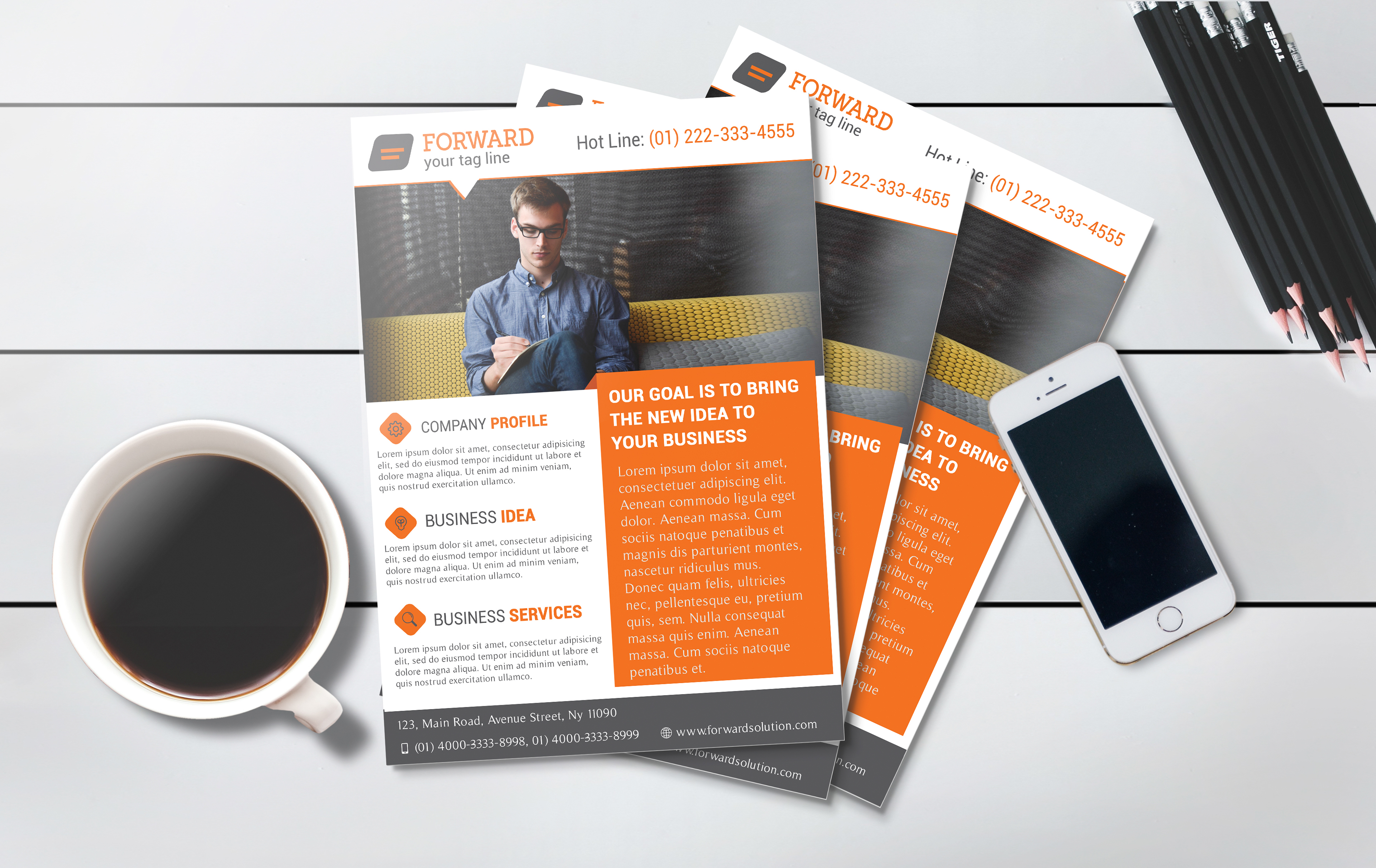 free professional flyer templates