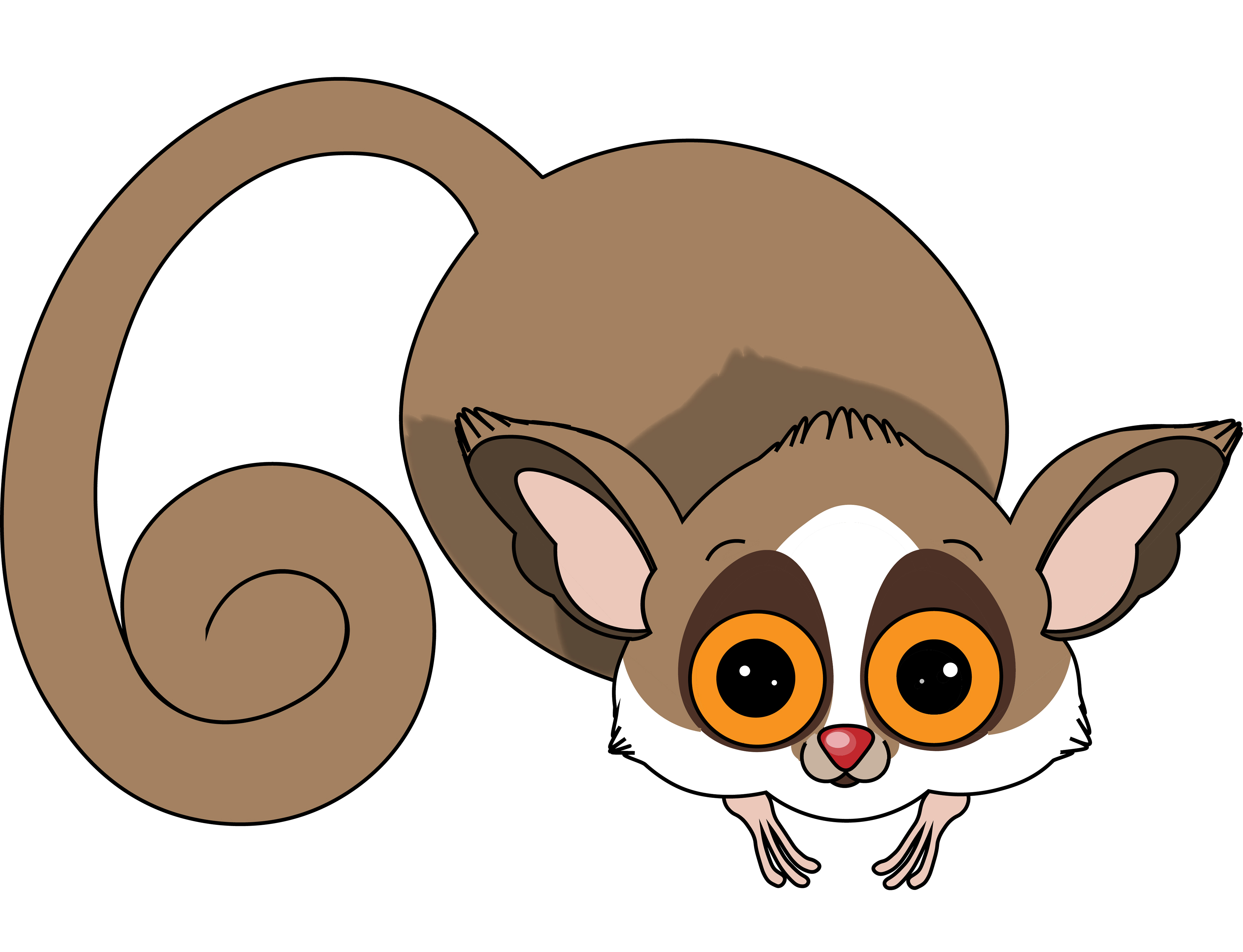 Mouse Lemur Cartoon | www.pixshark.com - Images Galleries ...