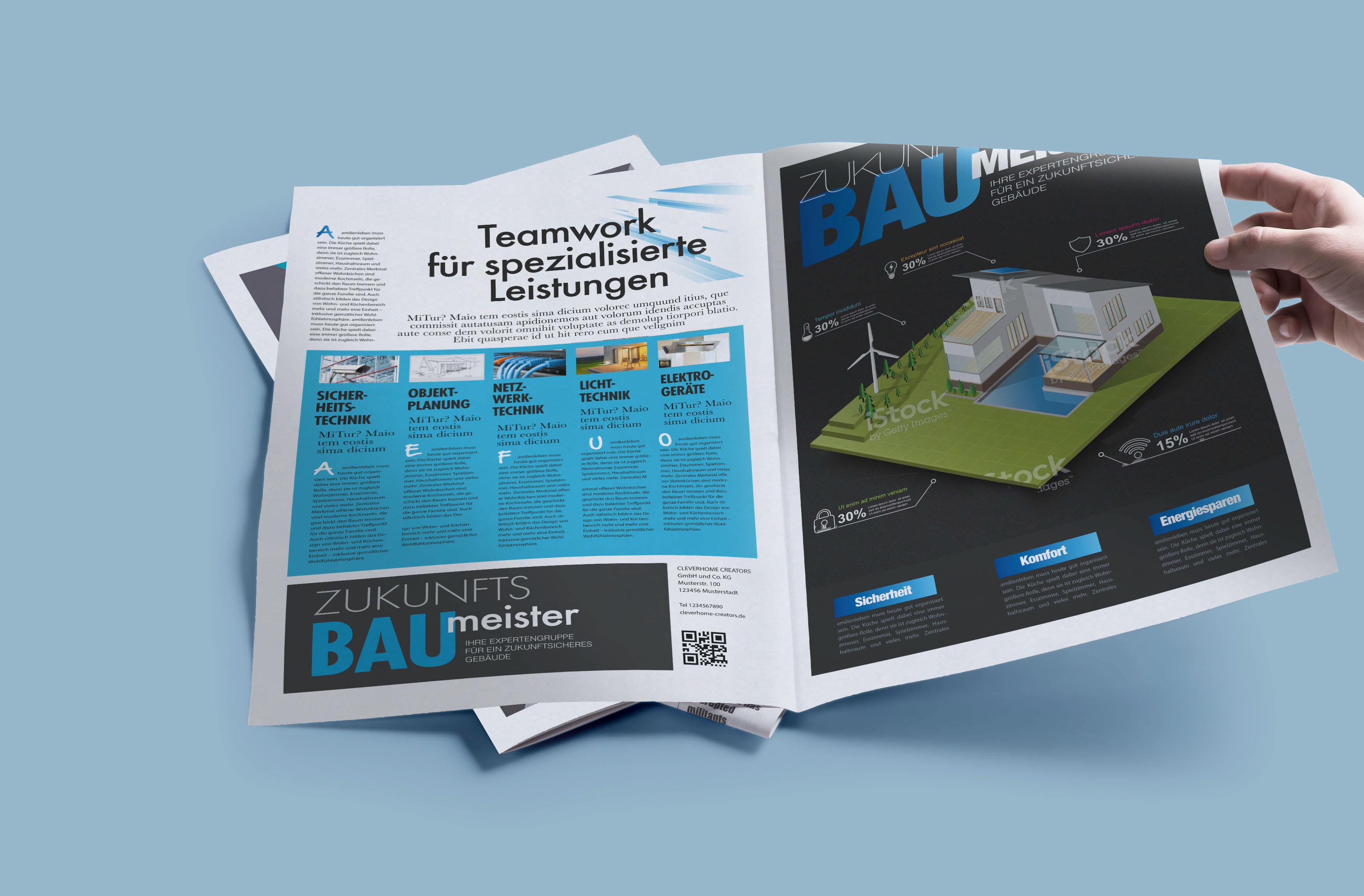 Zukunfts Baumeister Zeitung on Behance