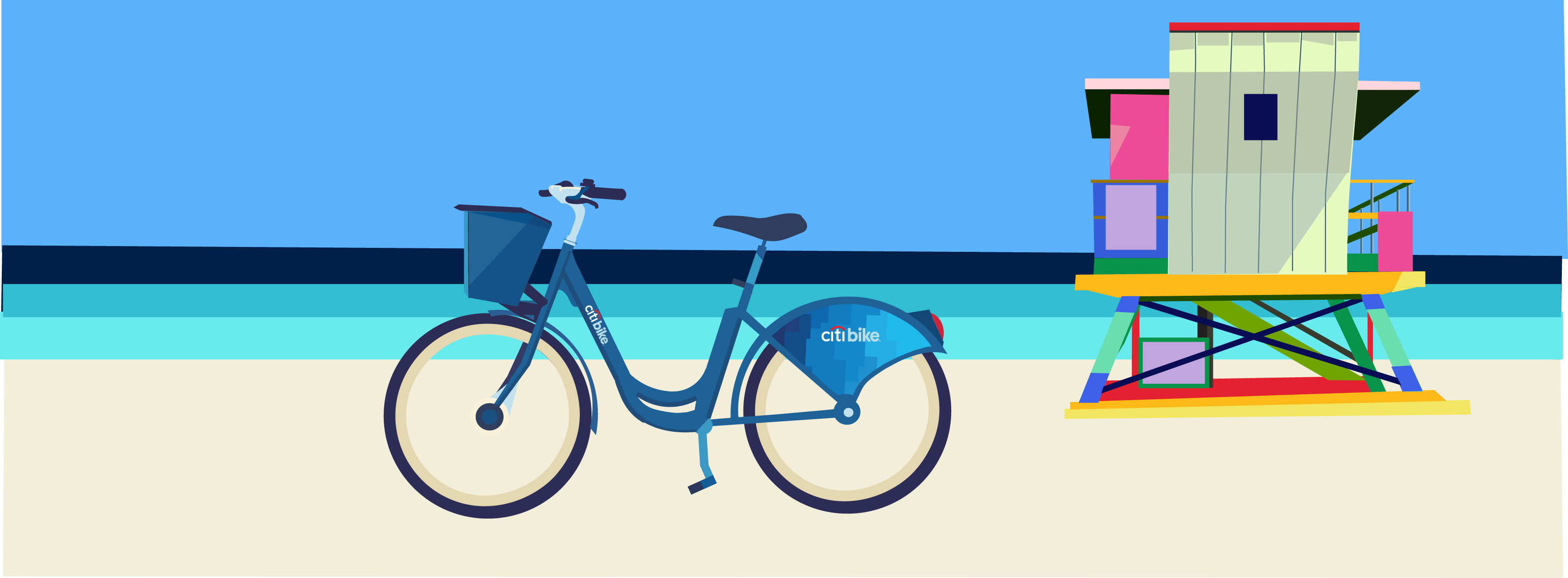 Citi Bike Miami SuperMarket Creative