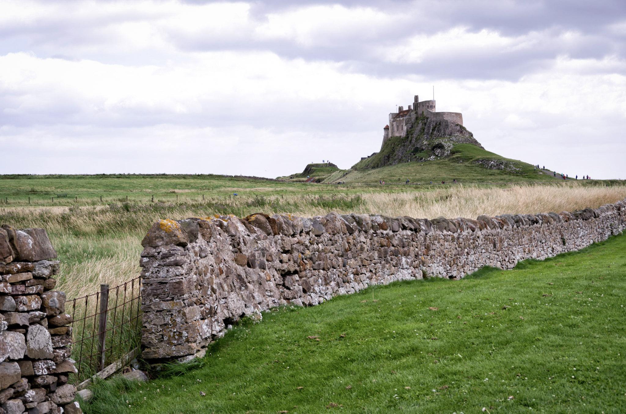 Liindisfarne Castle, Holy Island, Northumberland, England