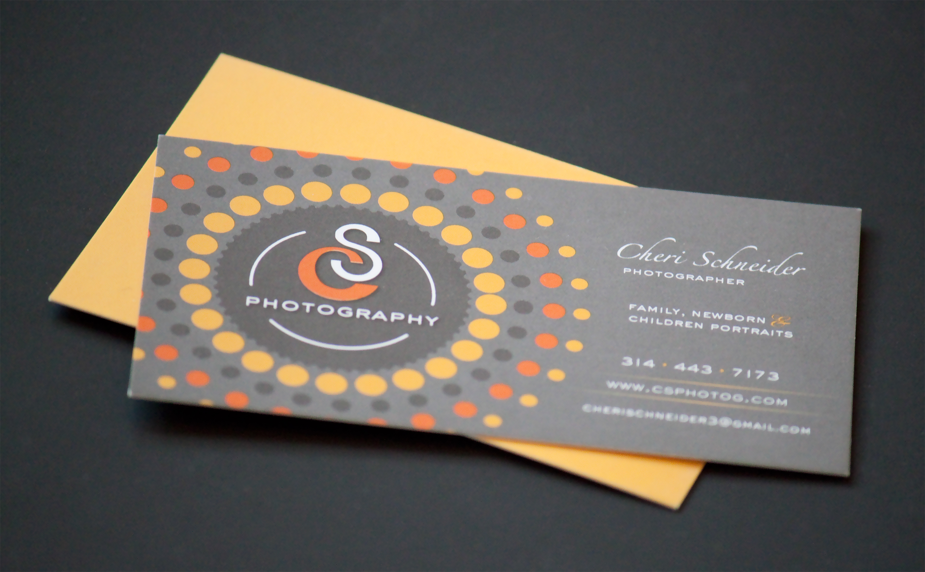 Katie niehoffs portfolio graphic designer in st louis cs the logo is used on her website and is also incorporated into all of her printed materials such as her business cards and gift certificates colourmoves