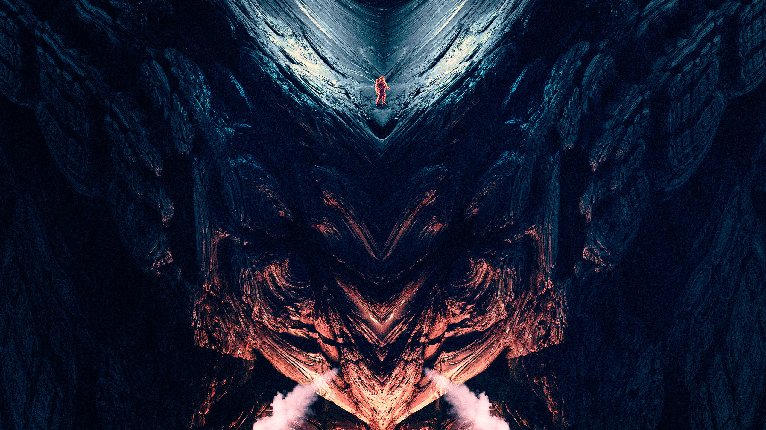 The Mandelbrot Loneliness Abstract Series by Nikita Kolbovskiy