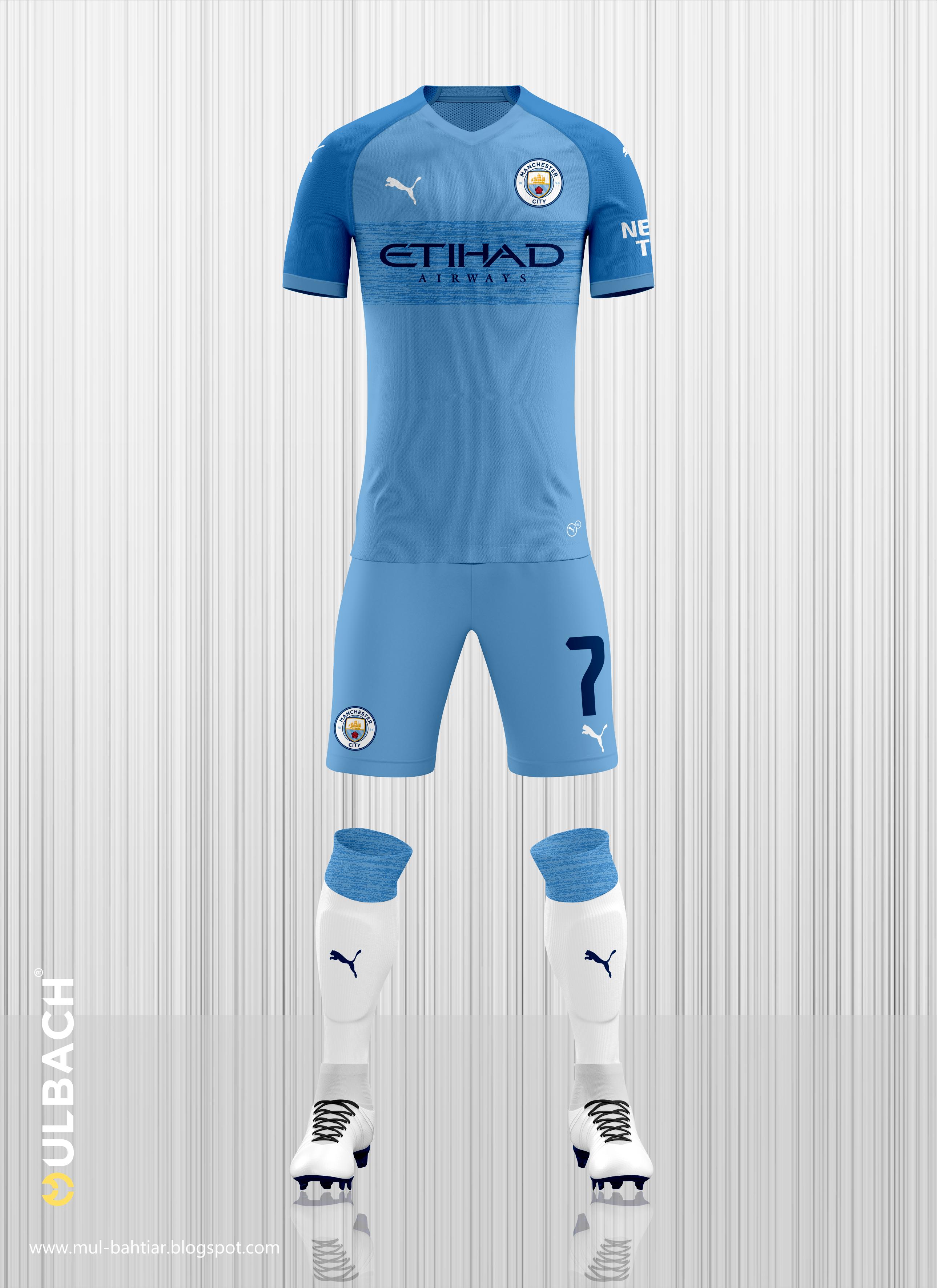 641b9879773fa Manchester City 2019 2020 Puma Kits Concept on Behance