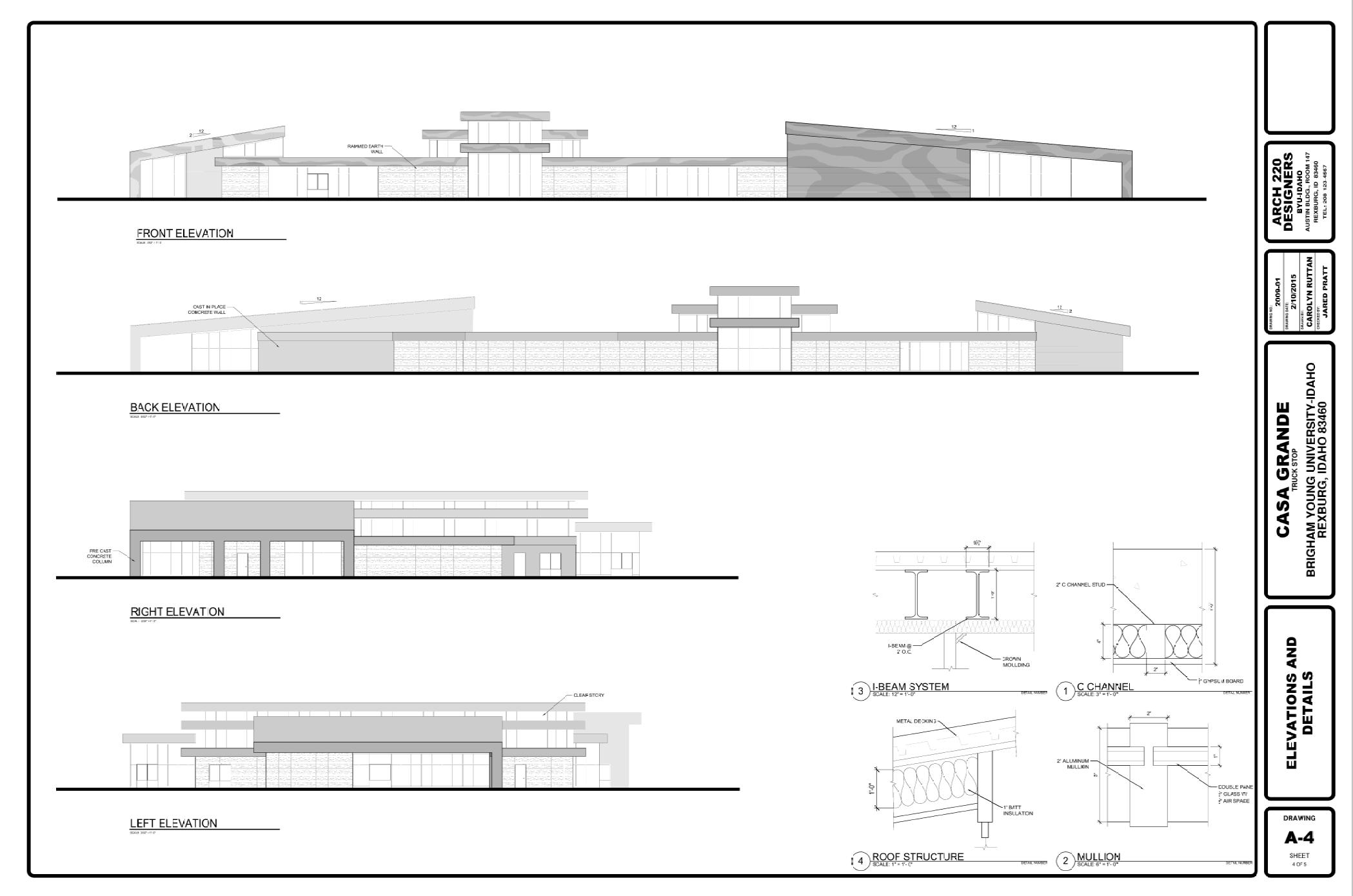 Carolyn Ruttan - AutoCAD Truck Stop Design