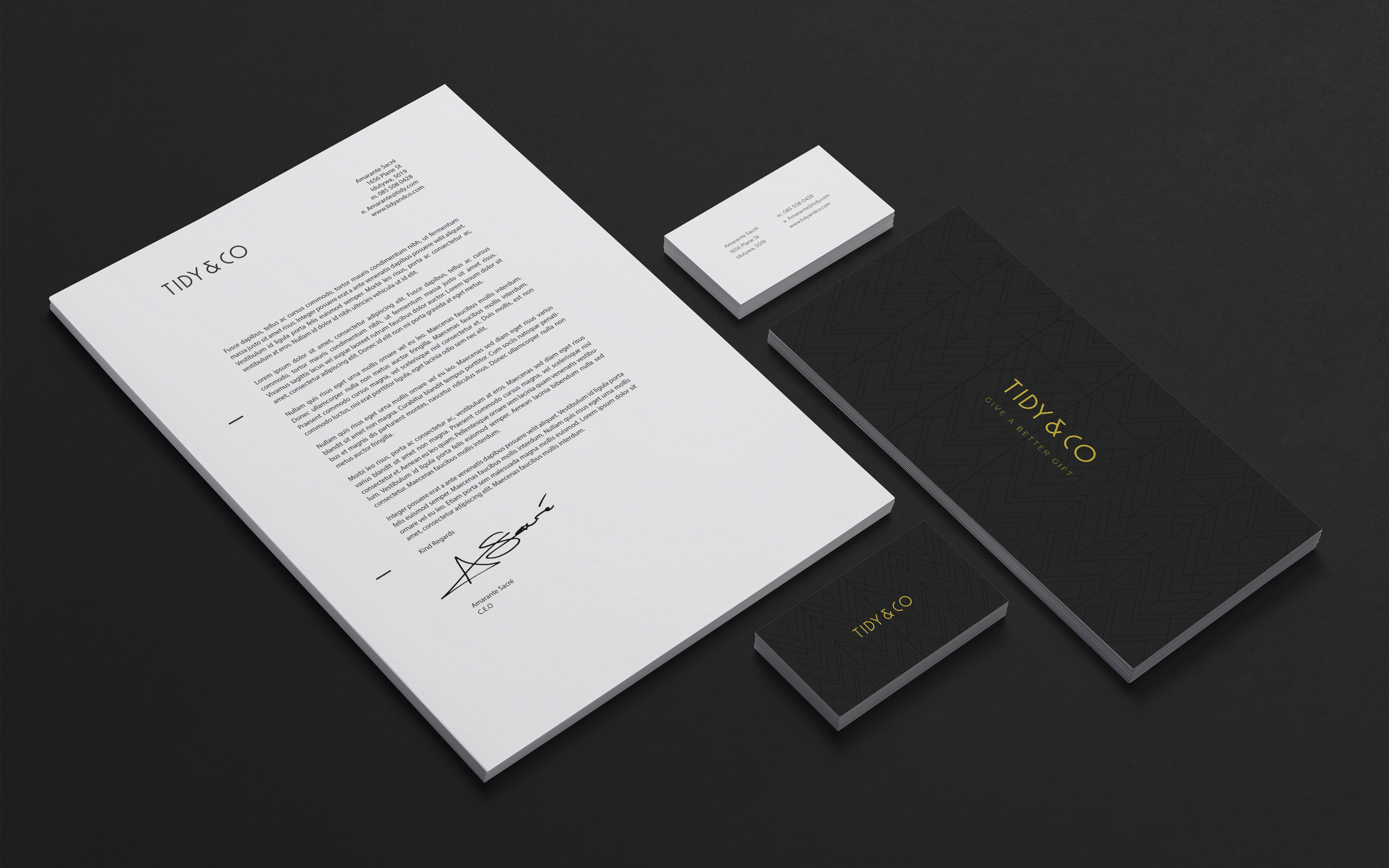 company tidy office. rebranding of local ecommerce company tidy and co office s