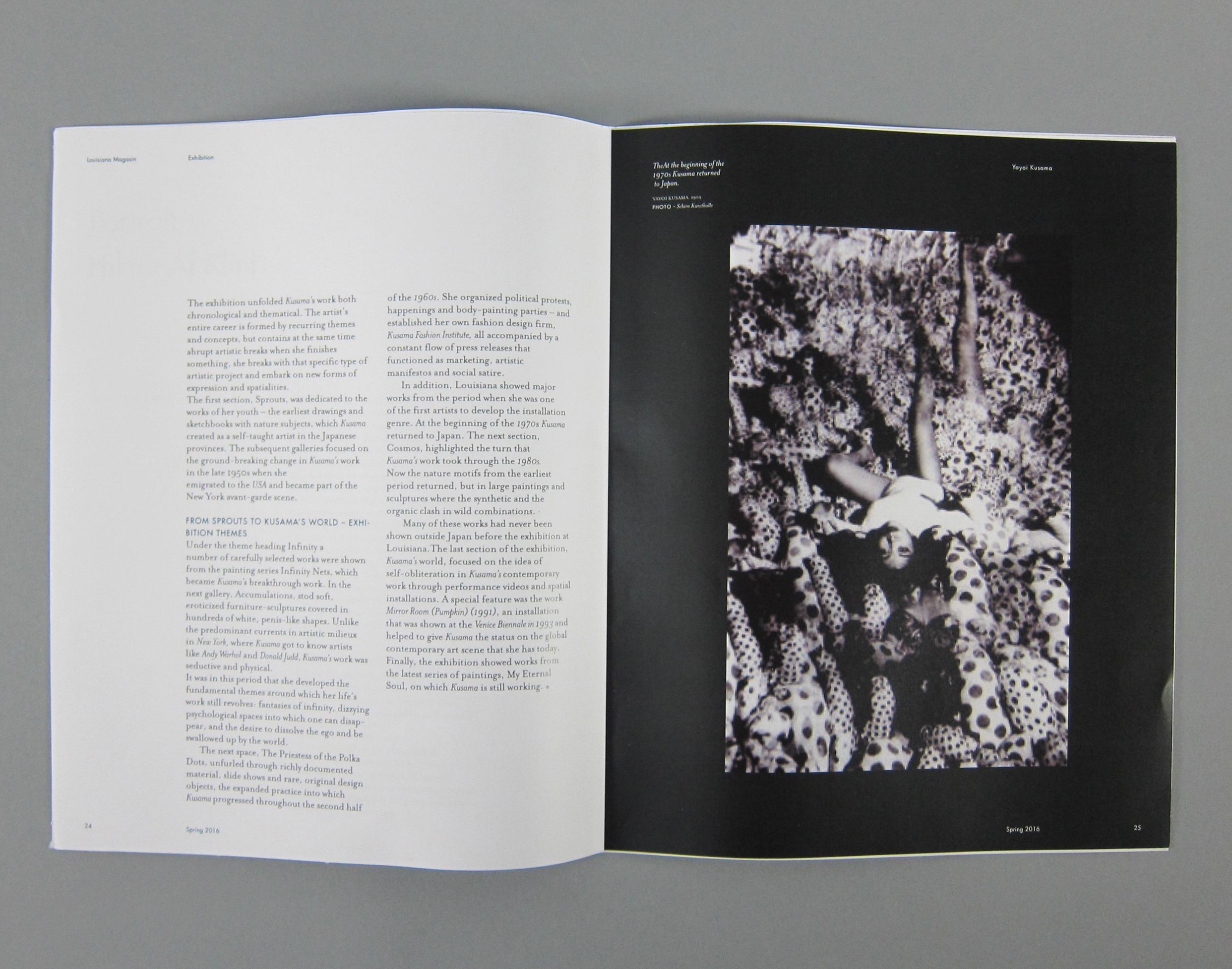 art magazine - redesign on Behance