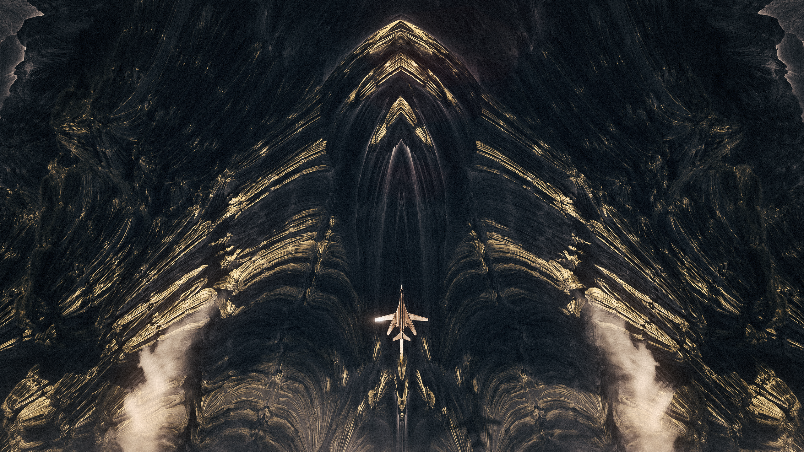 The Mandelbrot Loneliness Abstract Series by Nikita KolbovskiyThe Mandelbrot Loneliness Abstract Series by Nikita Kolbovskiy