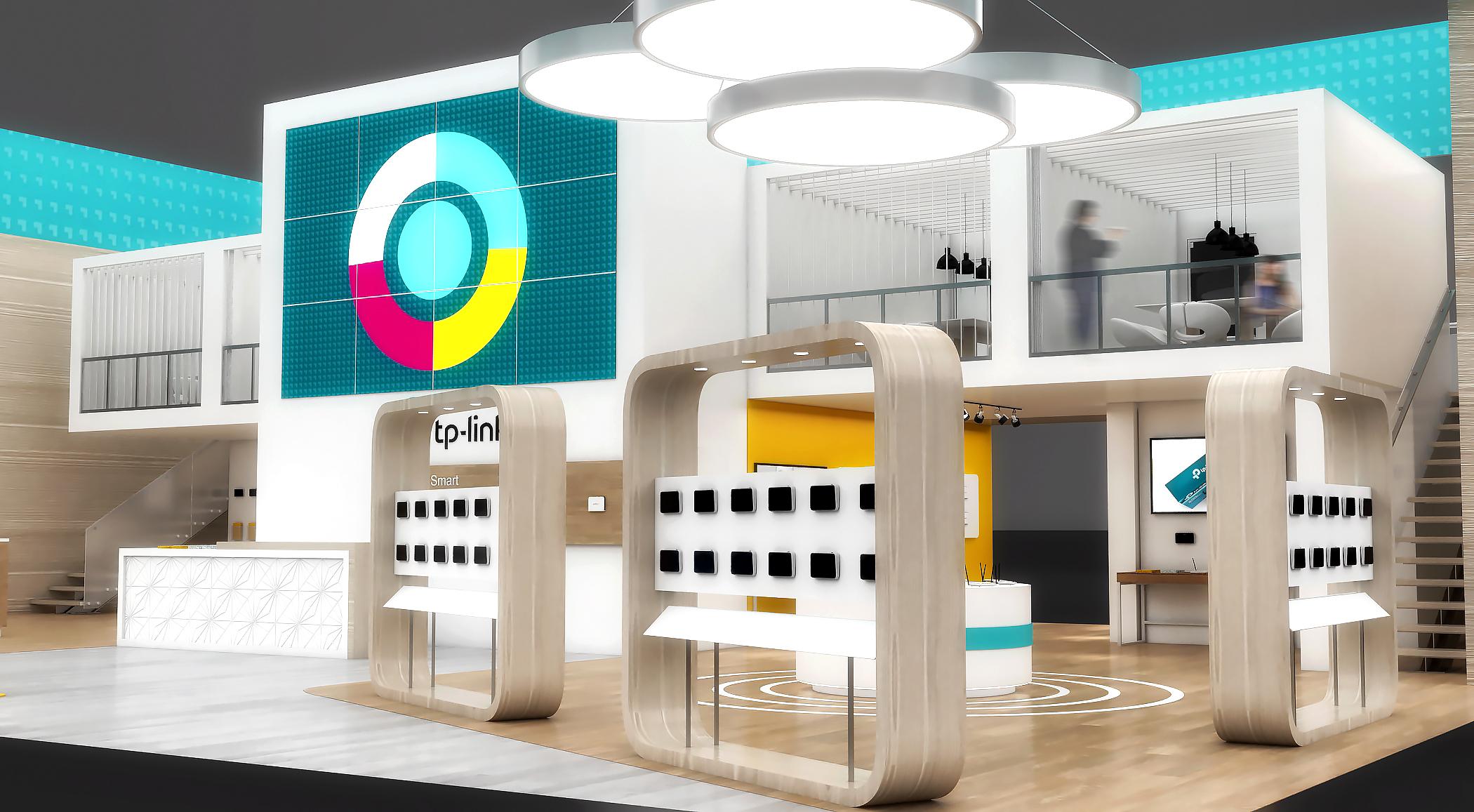 TP Link Exhibition Design On Behance