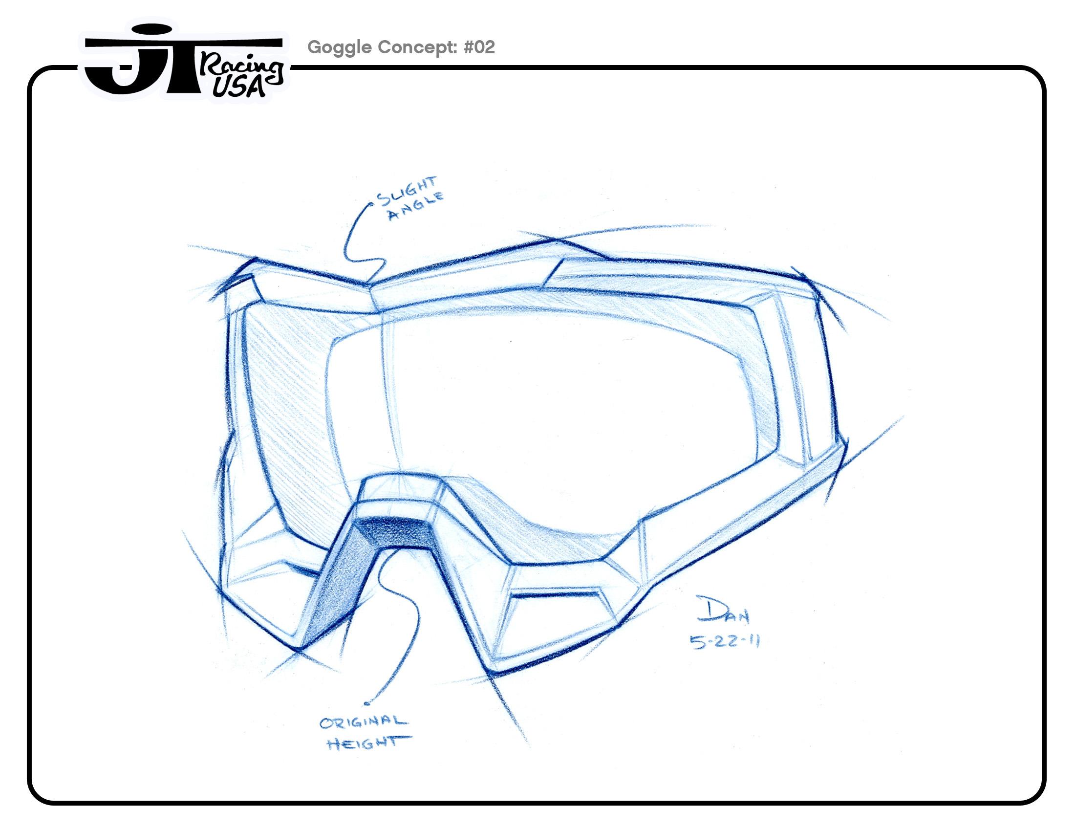 Dan Winger - JT Racing: Helmet & Goggles