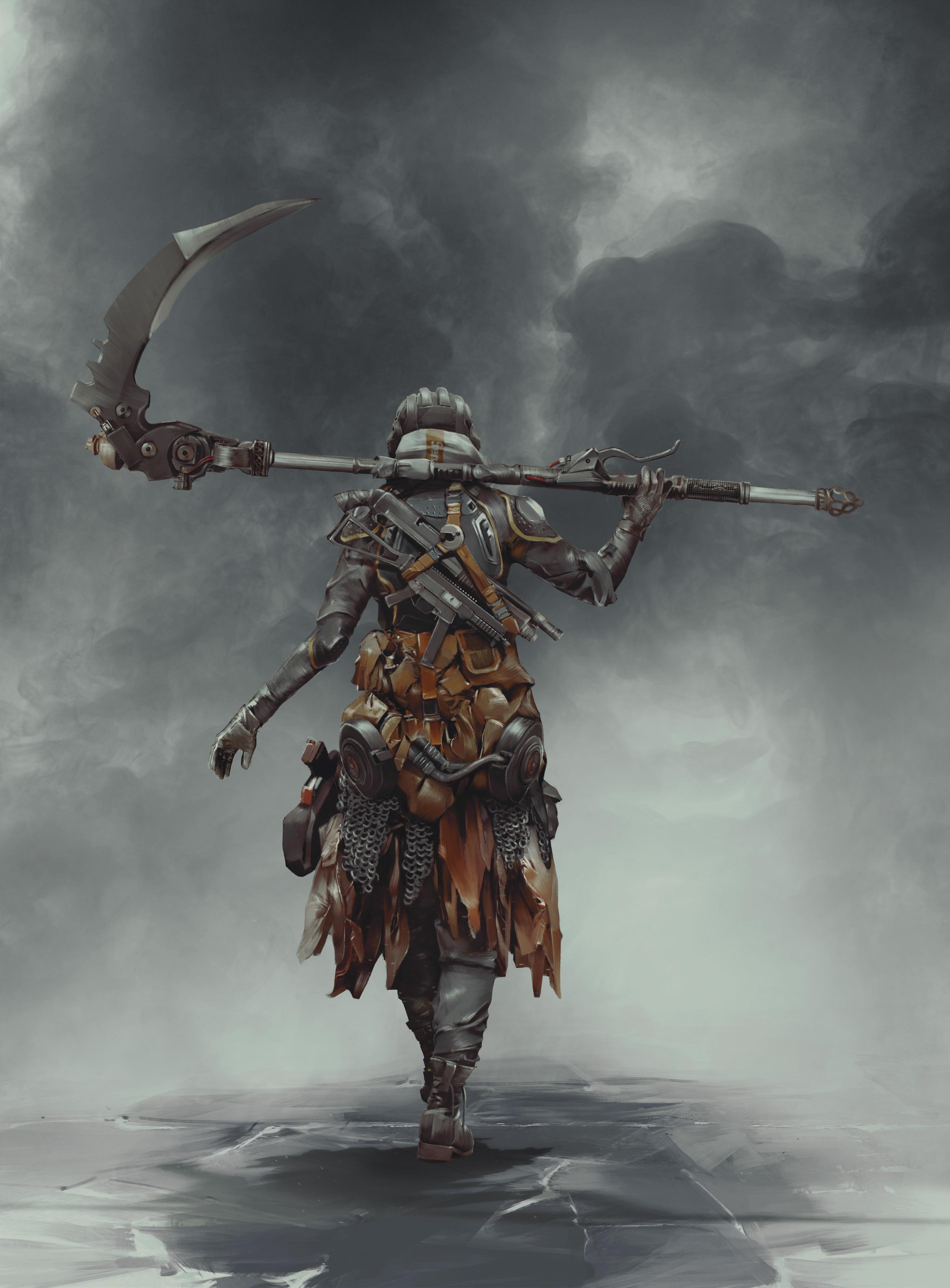 Fire Keeper A Modern Representation Of Dark Souls 3 On Behance