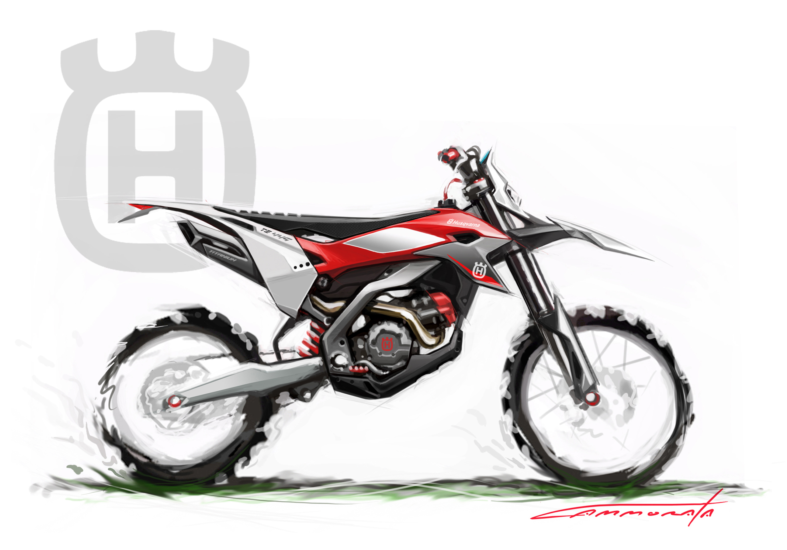 Bmw Husqvarna On Behance