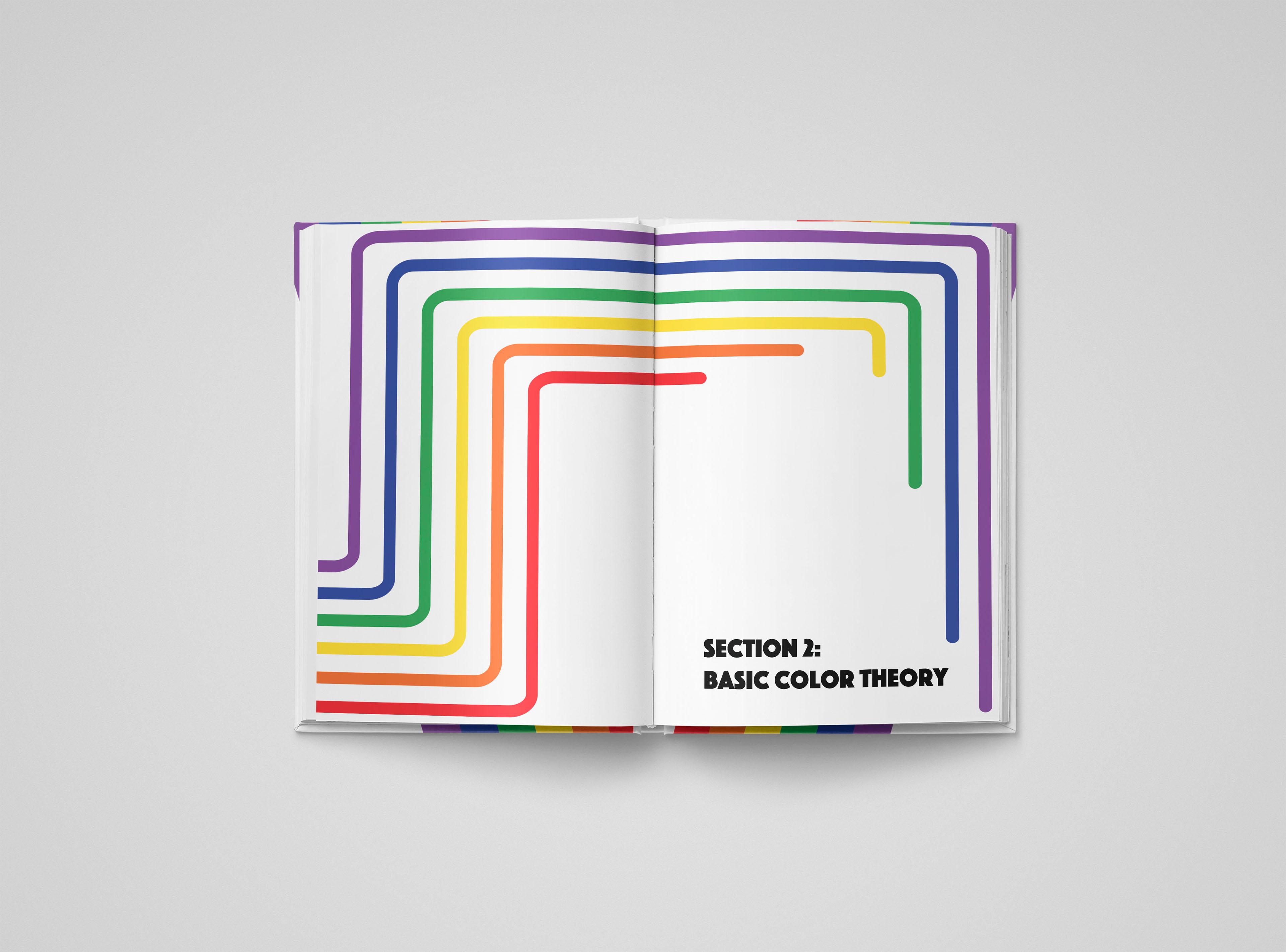 McKenzie Dorris - Portfolio - Color Theory Book