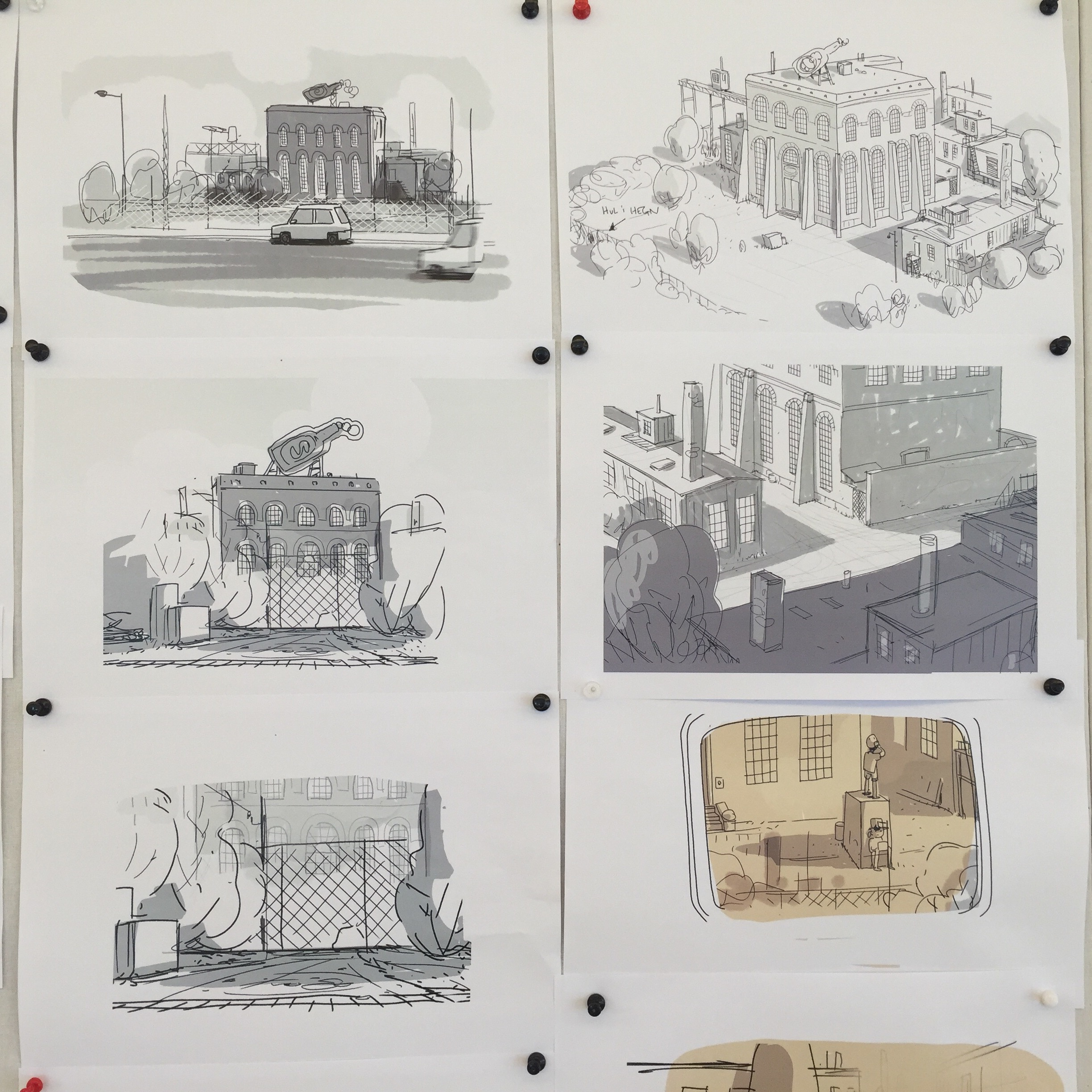 Film Storyboards
