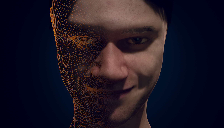 Zeke Faust VFX - Self Portrait in Blender