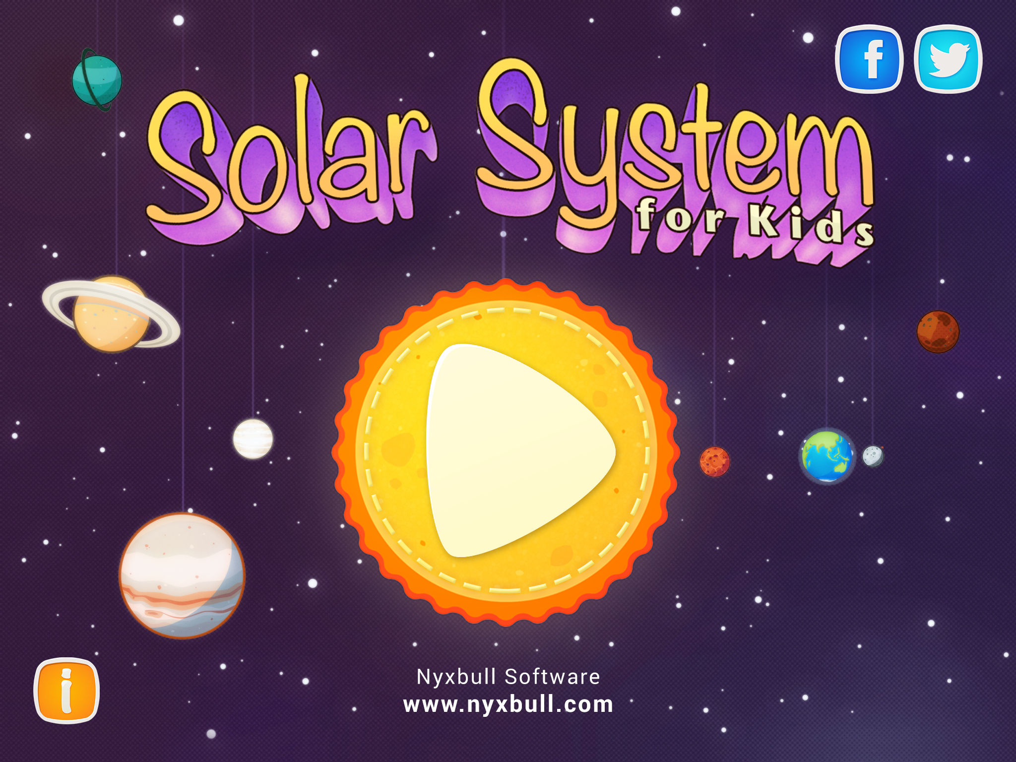 the solar system for kids - HD1920×1440