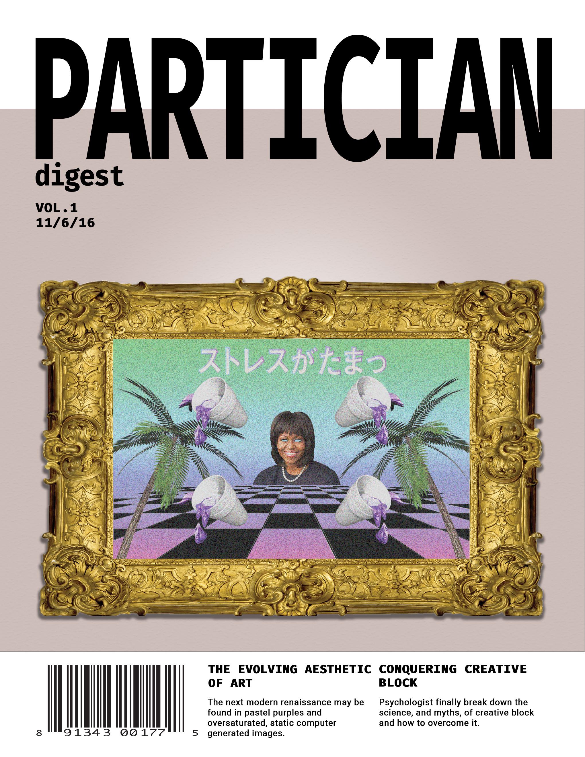Brandon Tse Partician Digest Magazine Cover