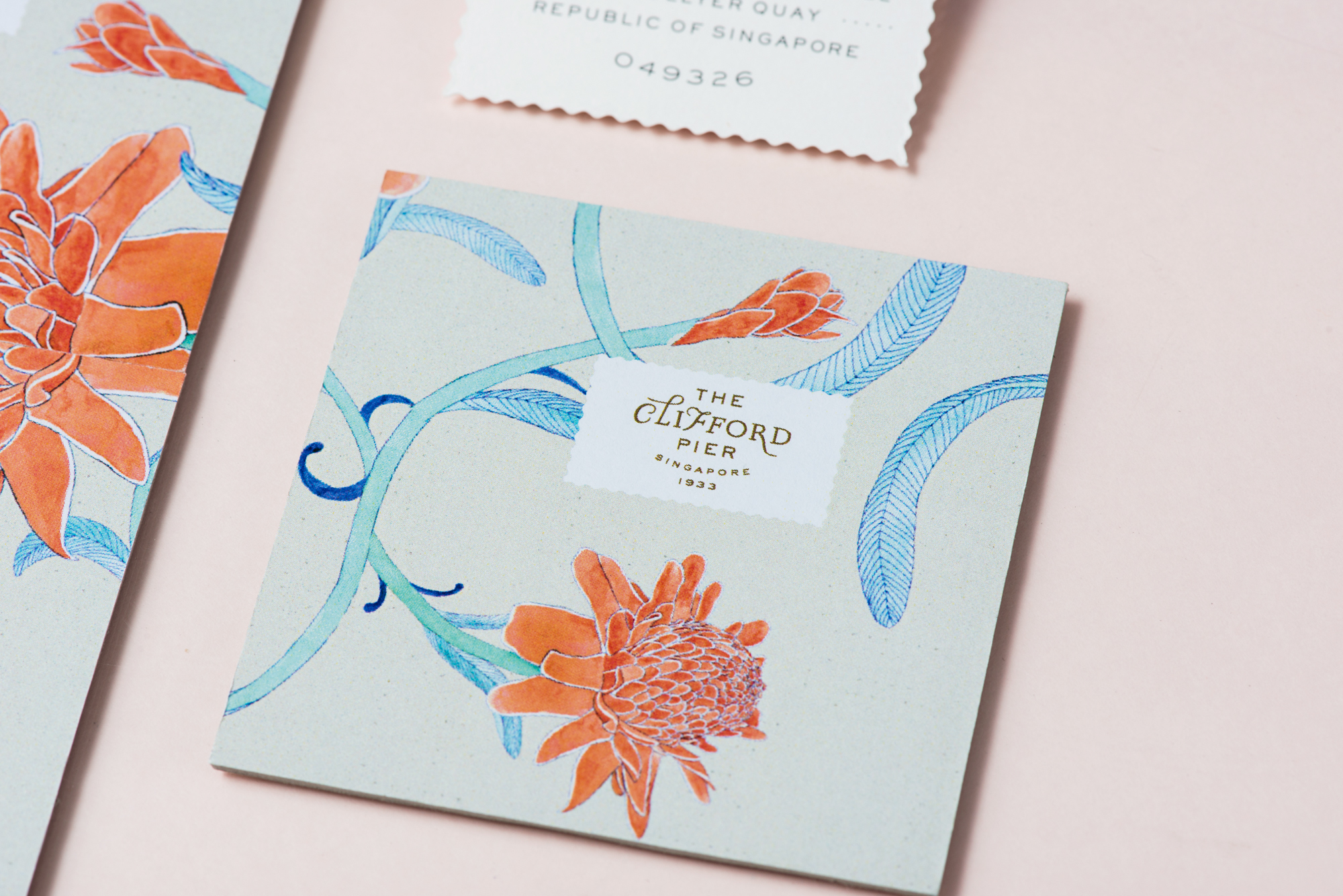 Brand Identity for The Clifford Pier Singapore