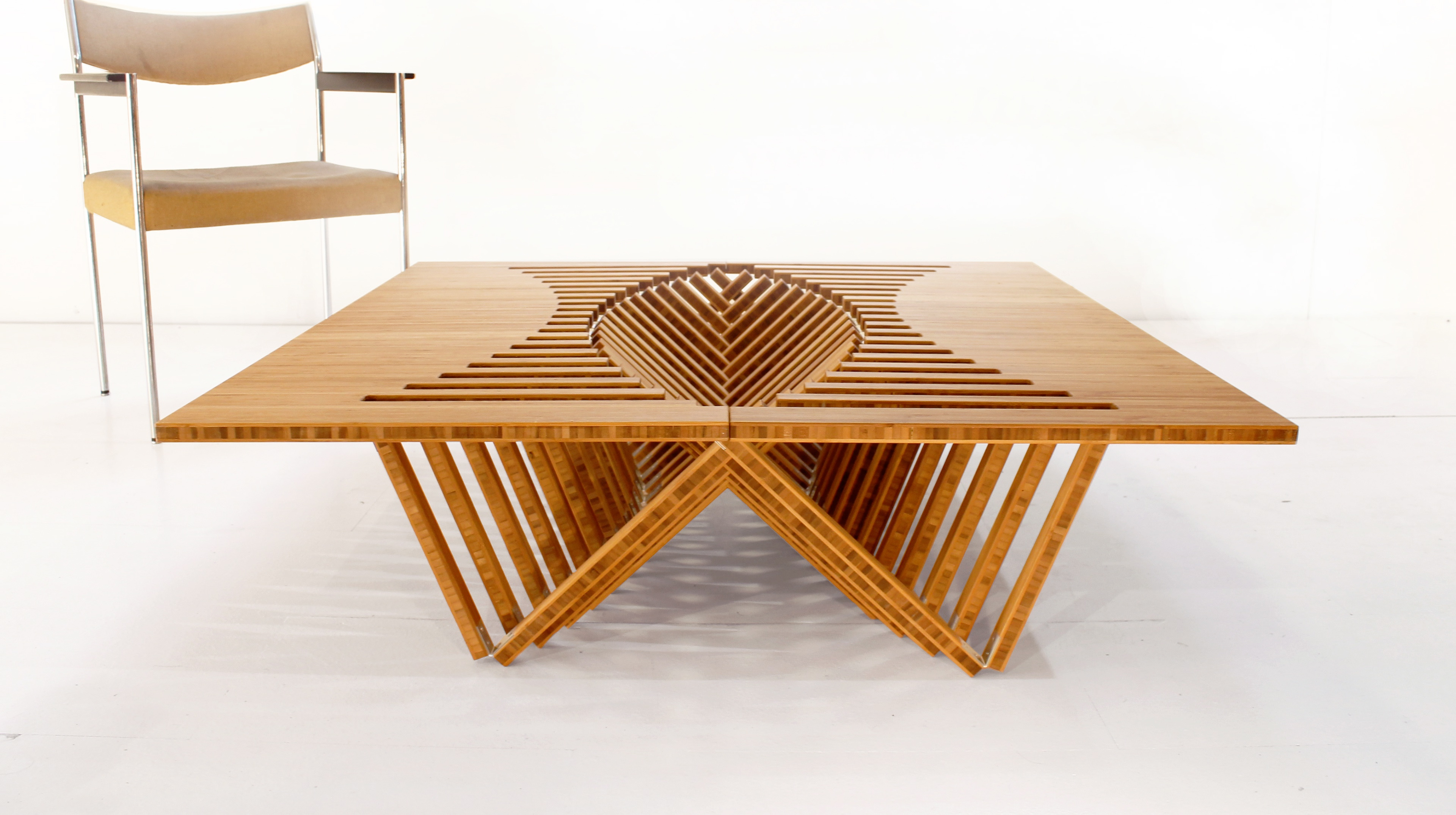 Rising Table by Robert van Embricqs on Behance