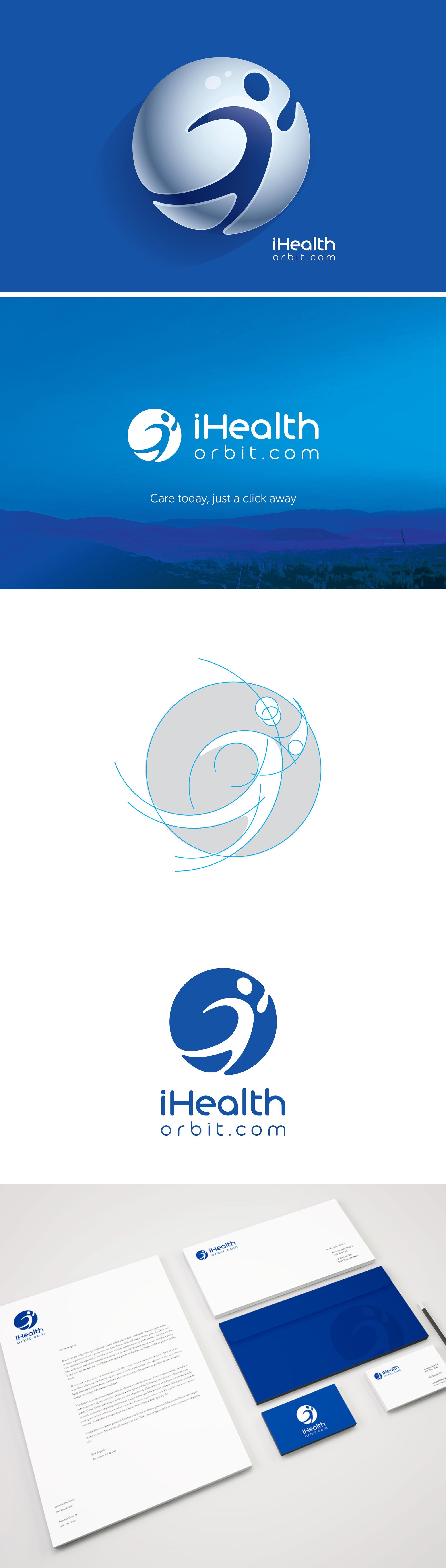 IHealth Orbit Logo On Behance