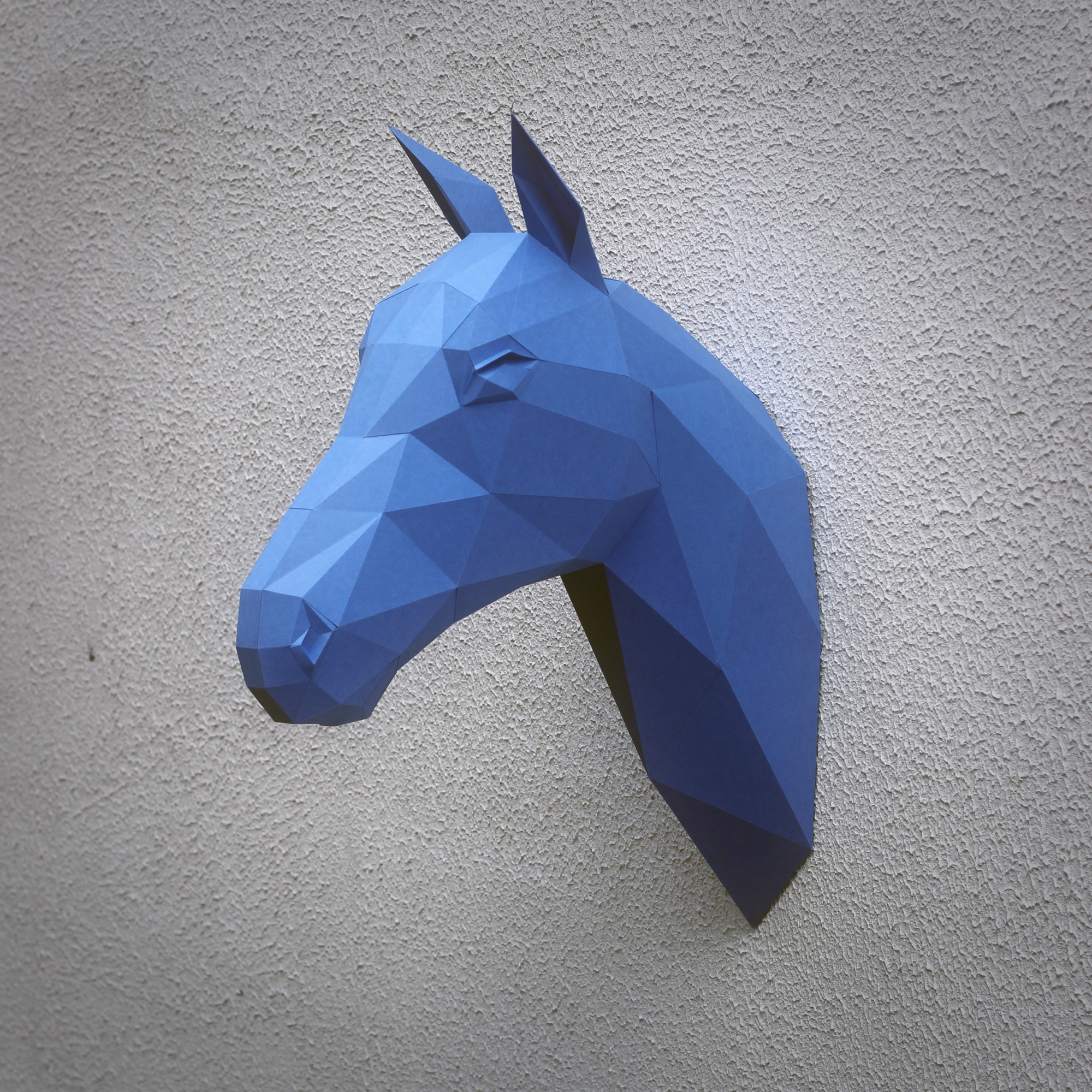 Papercraft Horse Head On Behance