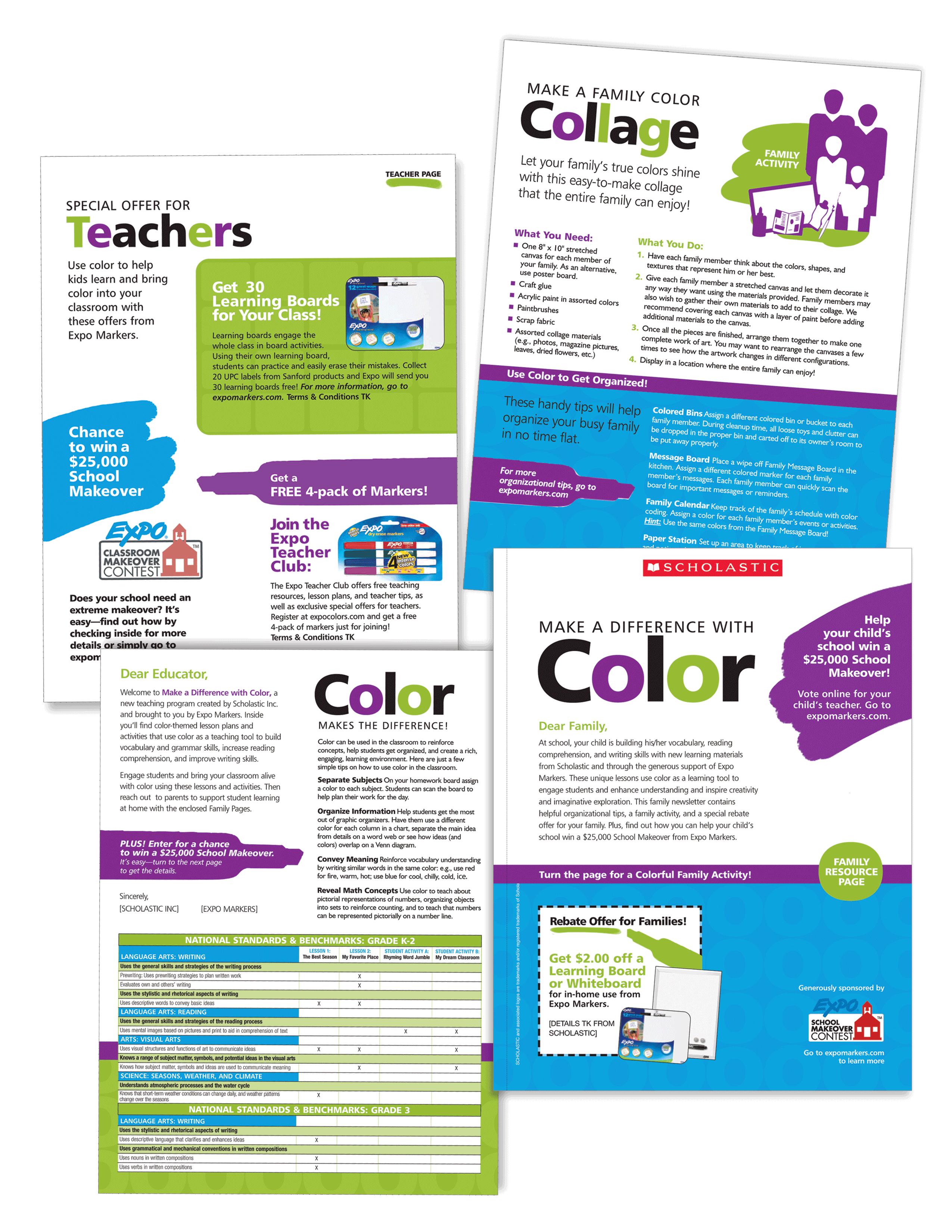 CurlyQ Creative - EDITORIAL DESIGN: Scholastic & Expo