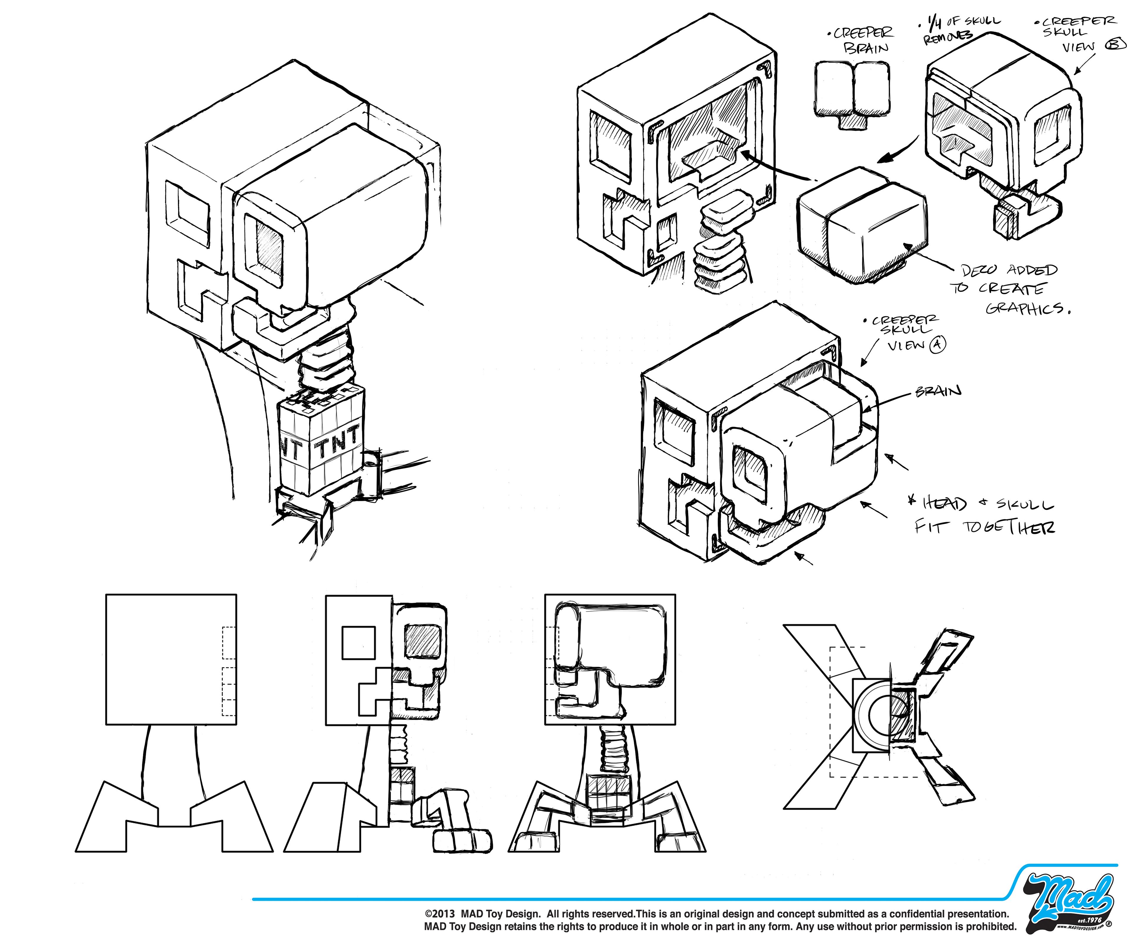 MAD Toy Design, Inc. - CREEPER Anatomy