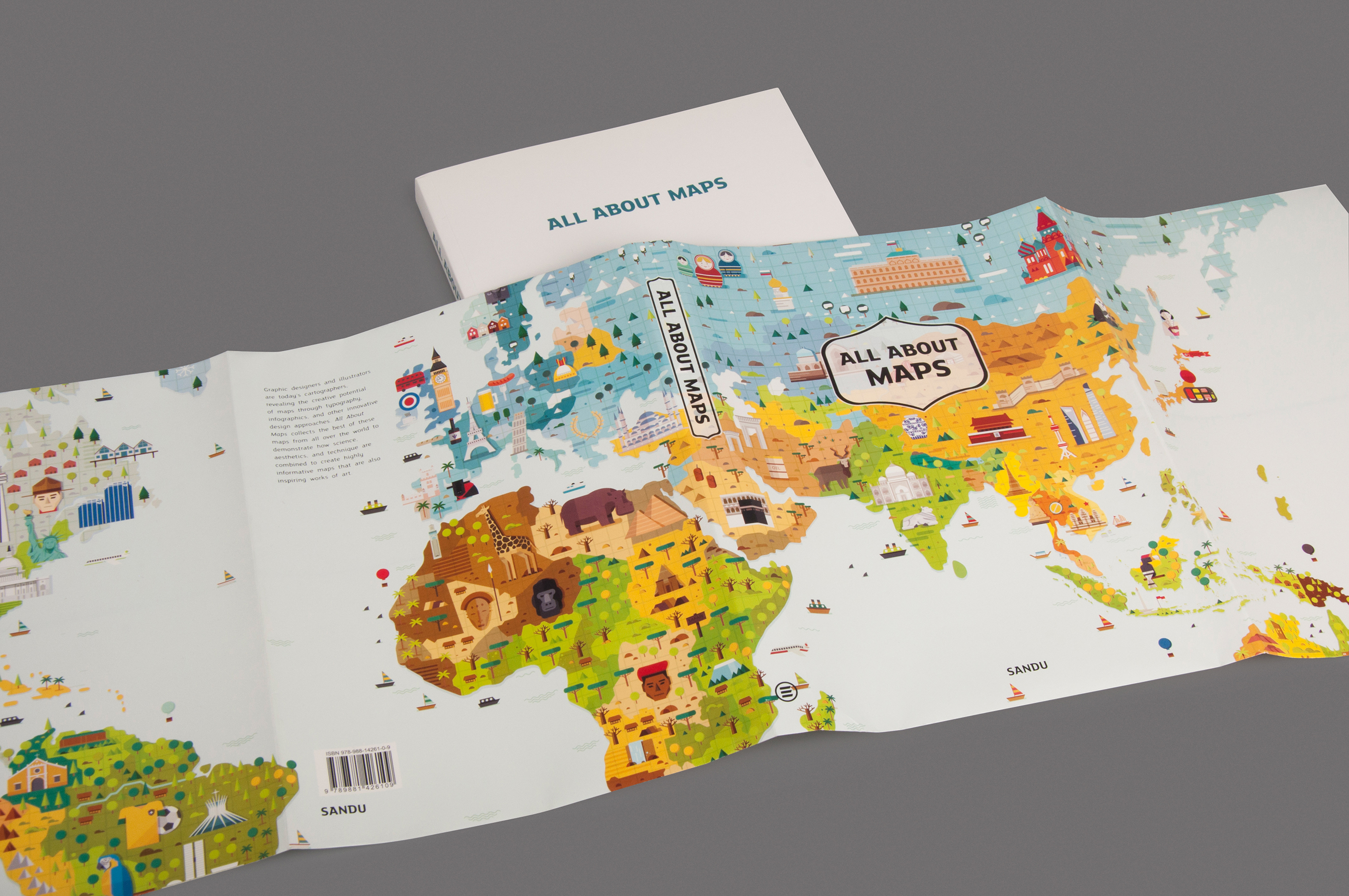 All About Maps On Behance - All maps