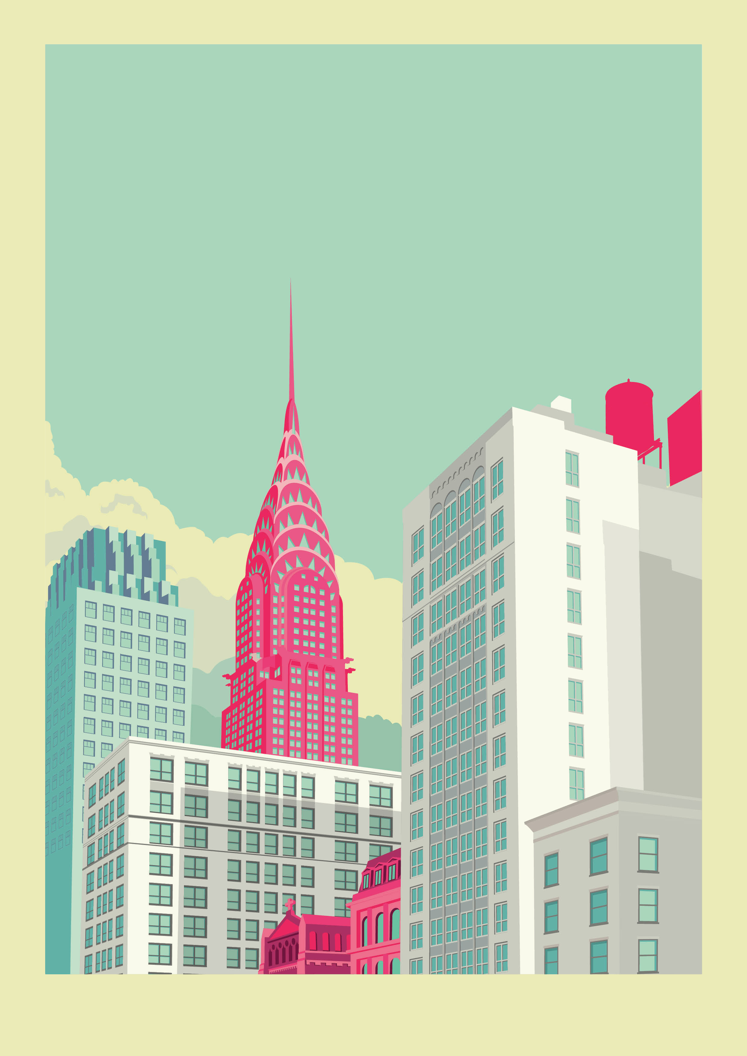 Populaire New York illustrations on Behance ZY44