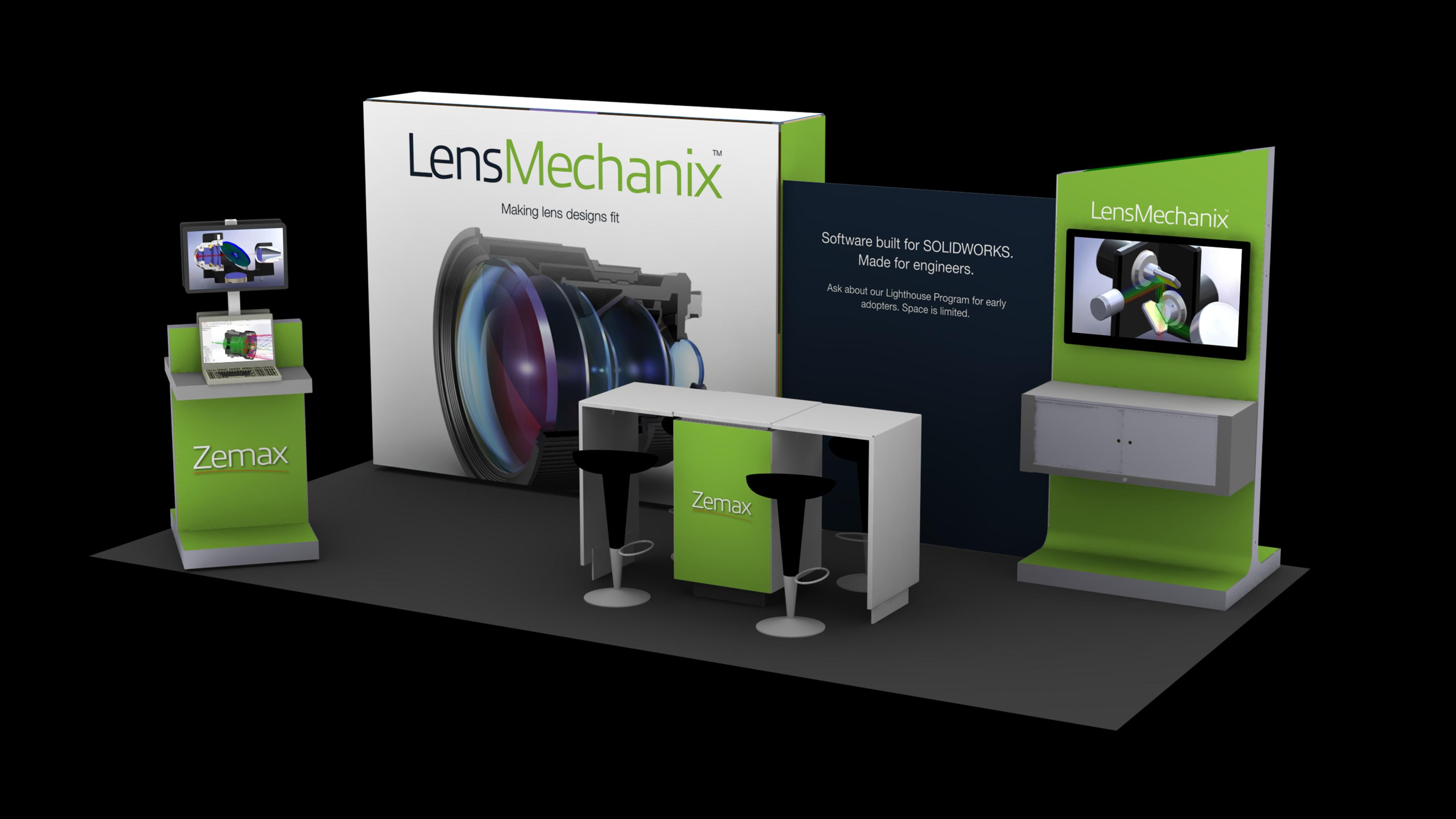 4bca19dab07c Zemax LensMechanix on Behance