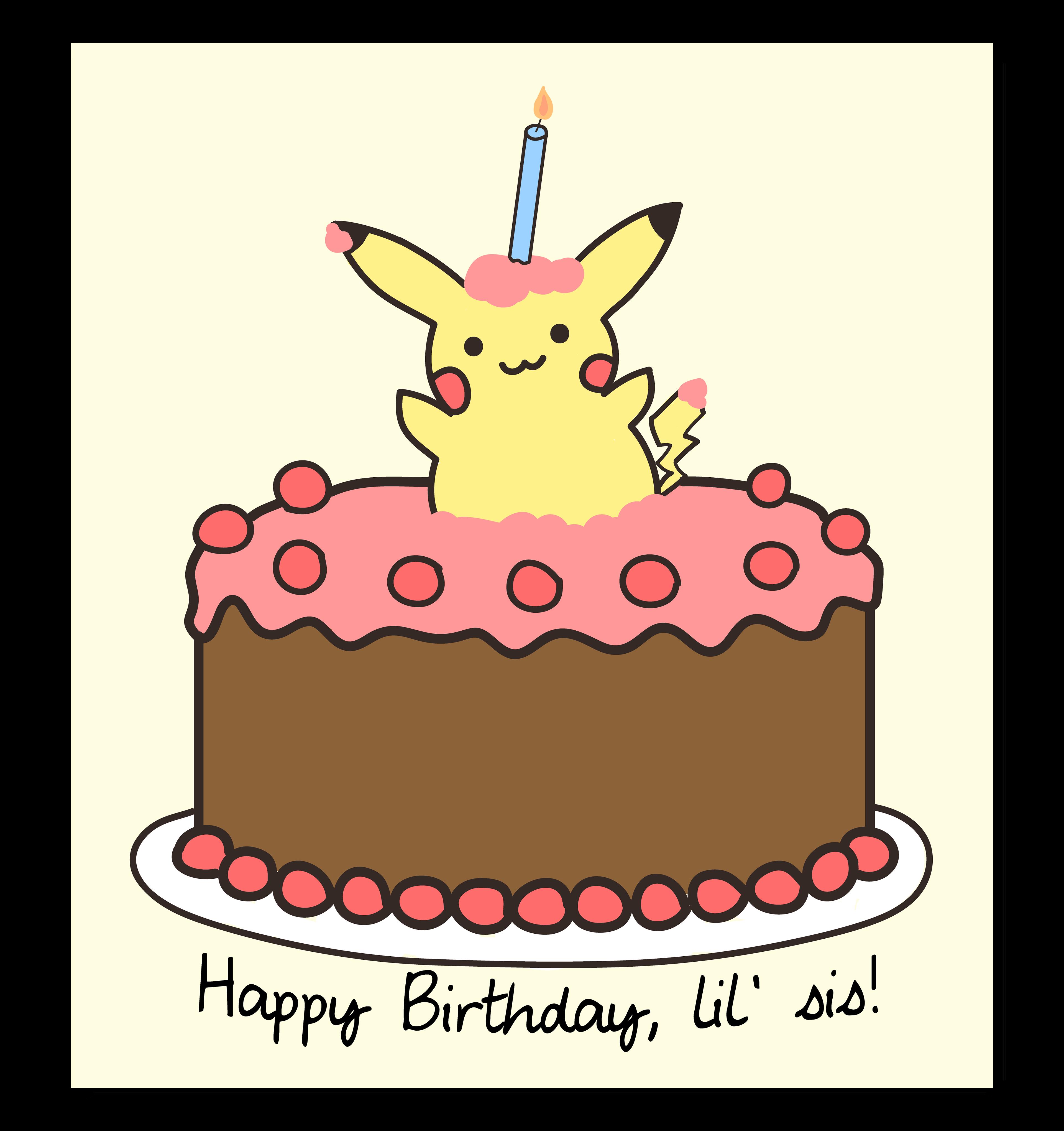 Barbara crisp pikachu birthday card bookmarktalkfo Gallery