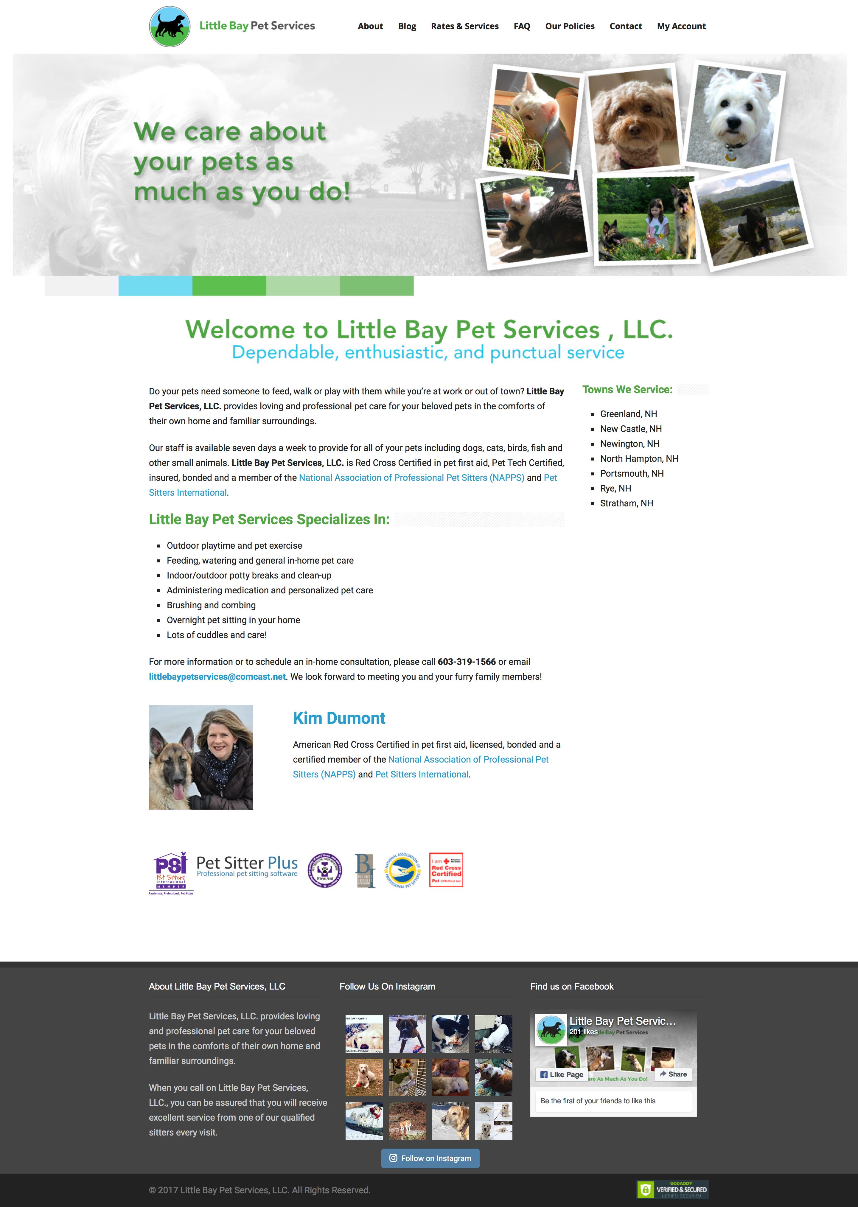 Little Bay Pet Services On Behance