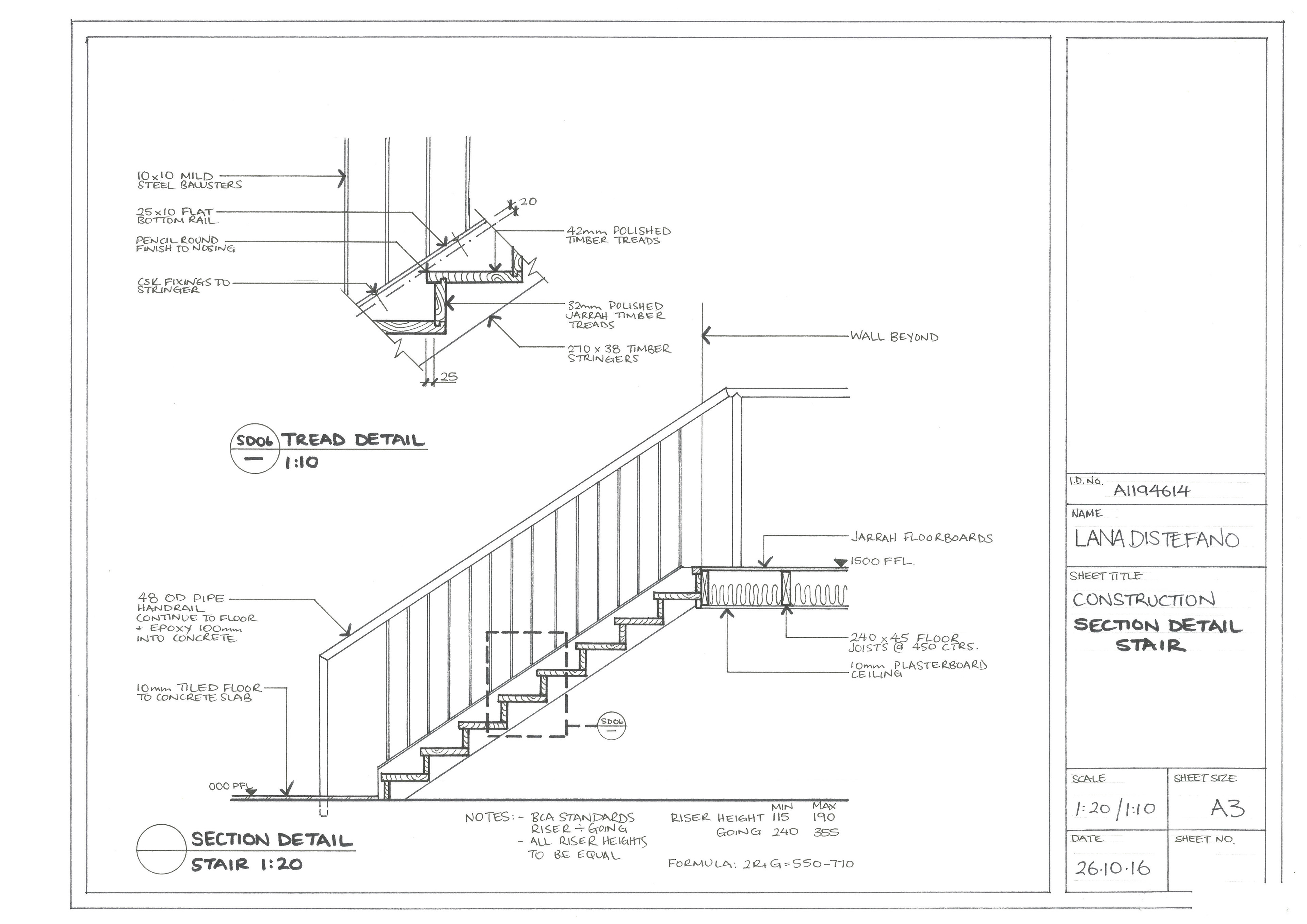 hand drawn construction drawings on behance