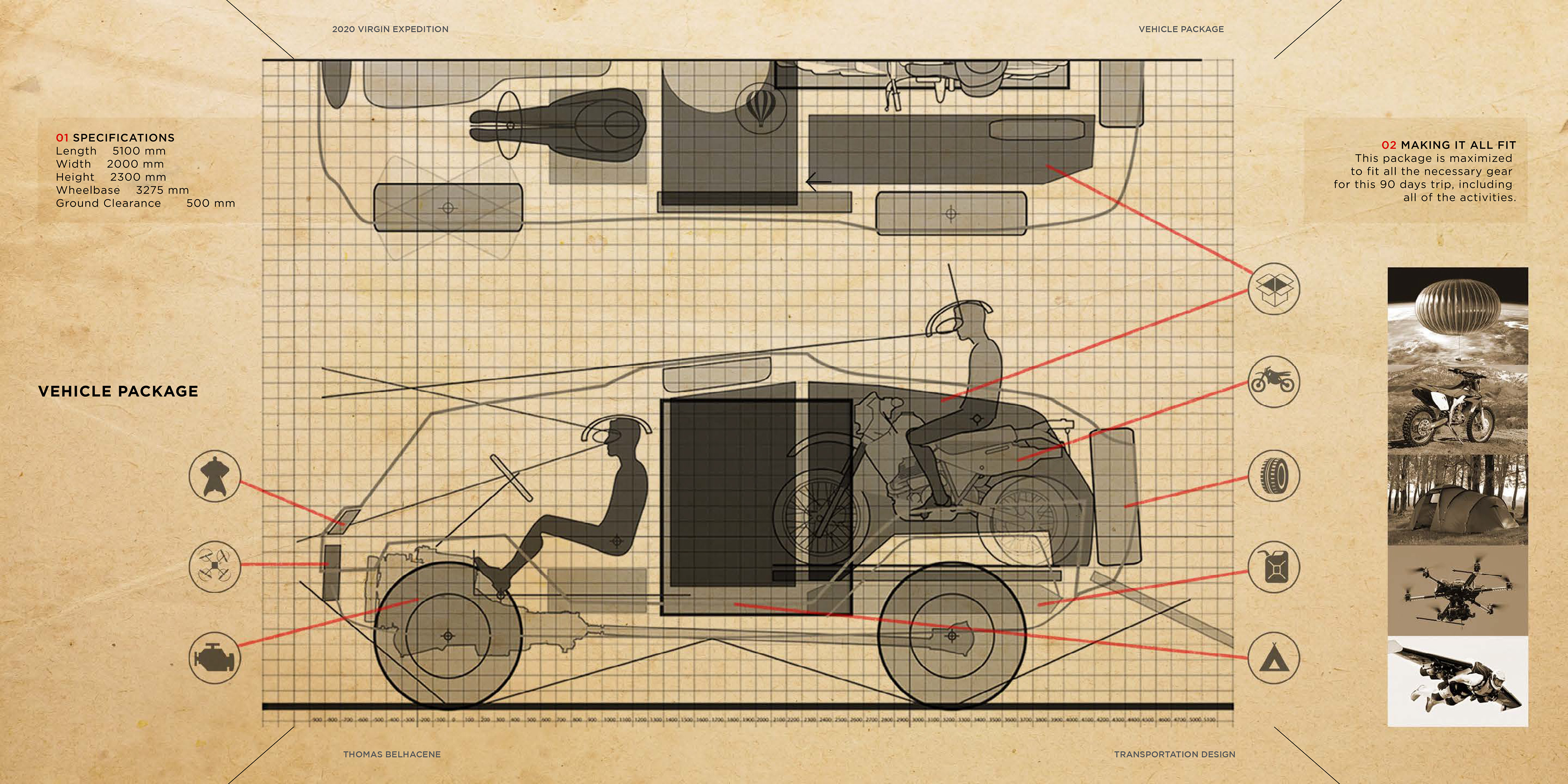 VIRGIN Expedition Vehicle on Behance