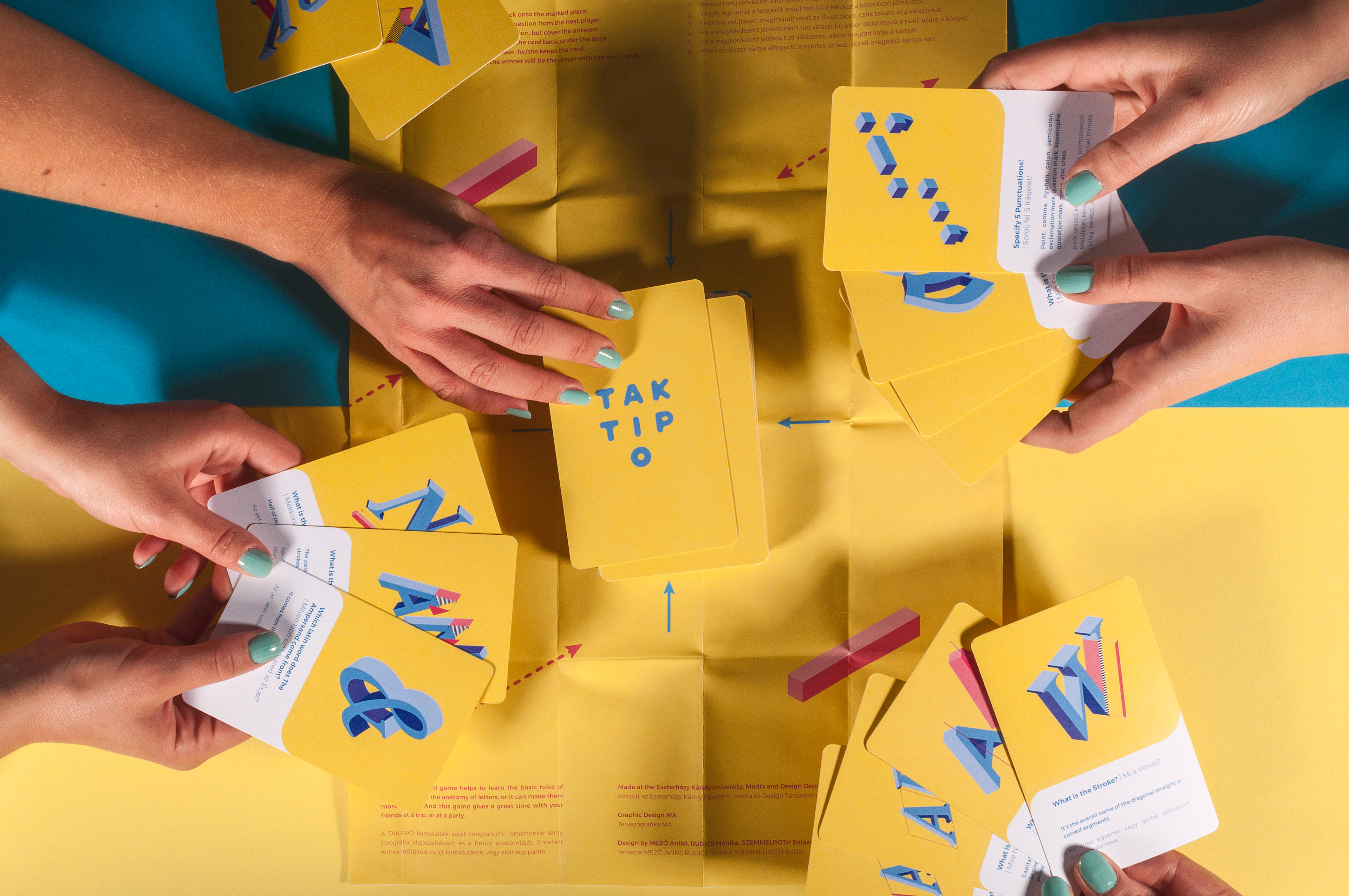 Taktipo Card Game On Behance