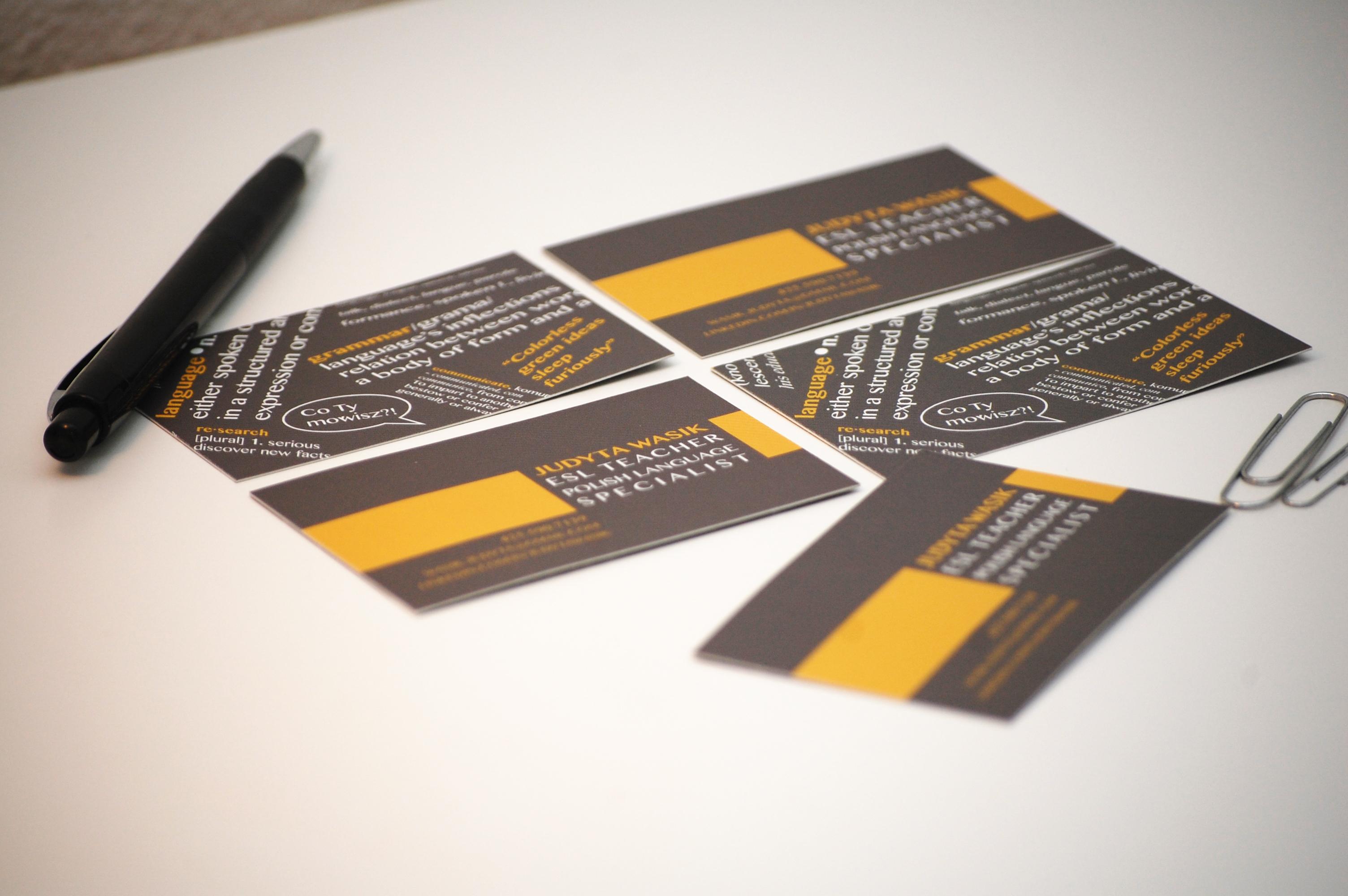 Joanna Wybranska - Business Card