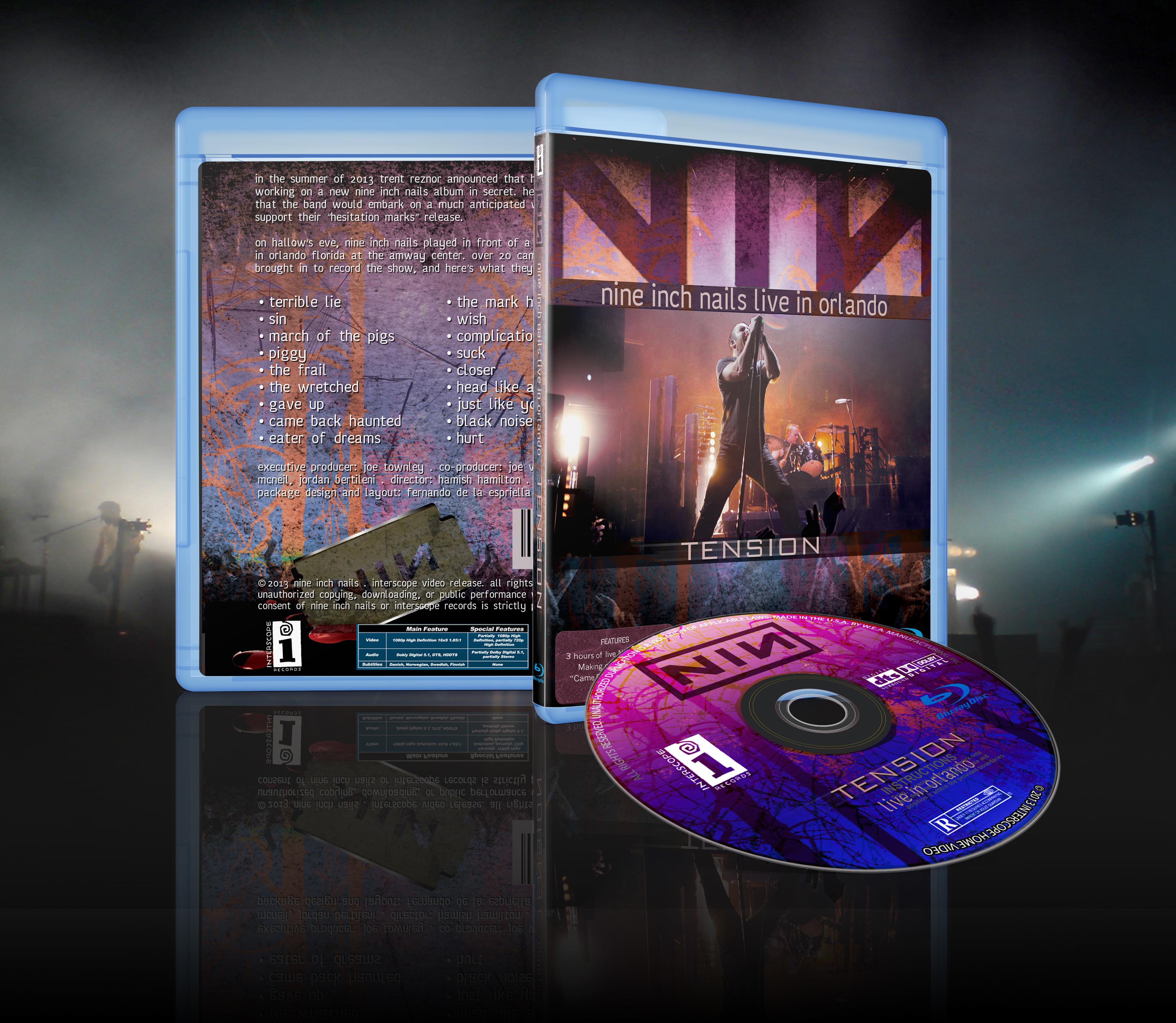 Fernando de la Espriella - Nine Inch Nails Tour Promo Package