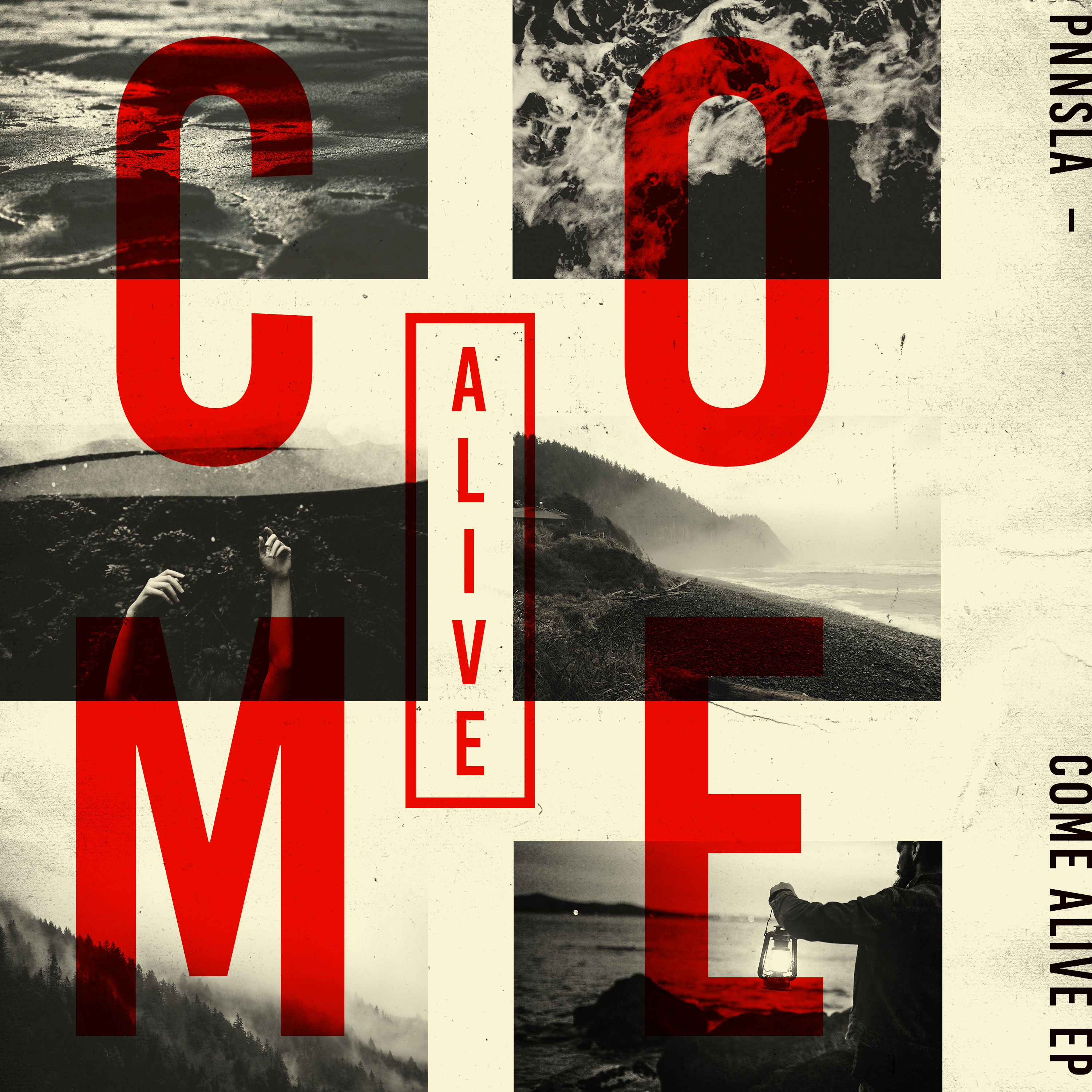 Come Alive EP Cover Option A - Full