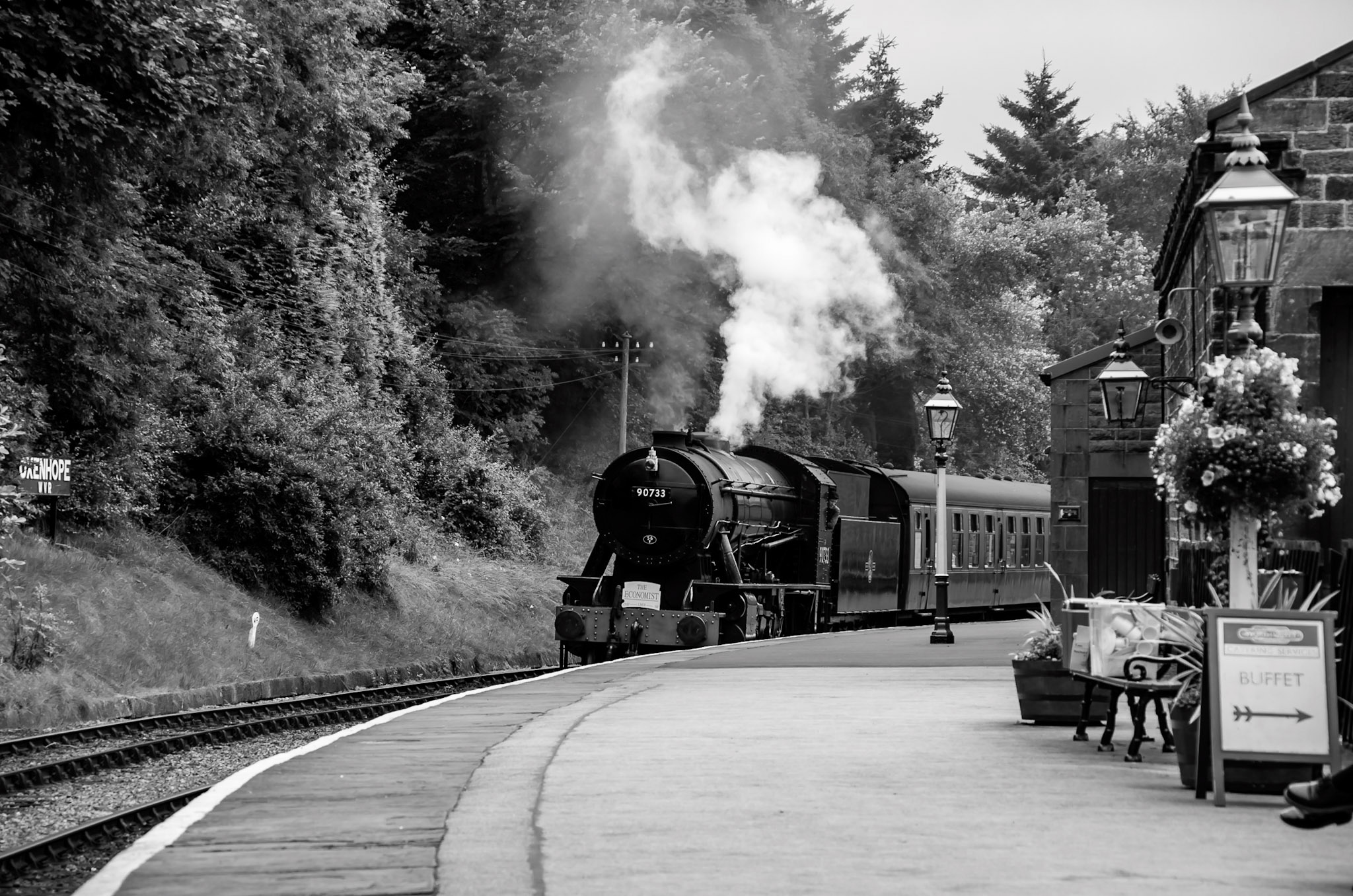 Steam Train, Oxenhope, England