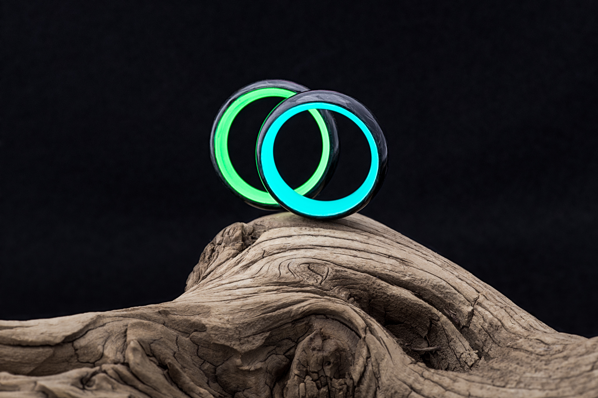 truly fuses the fiber with for forged glowing ring pin modern interior lume rings carbon a look